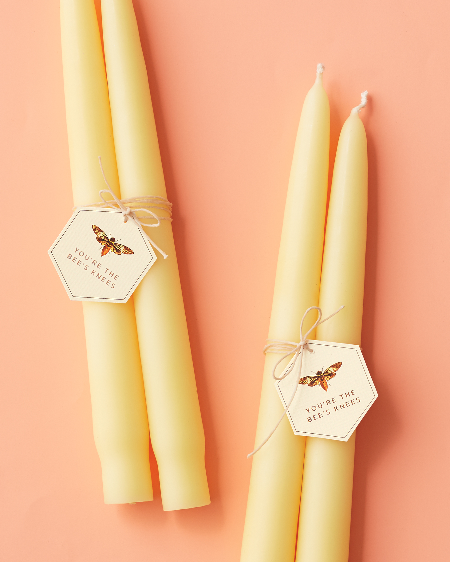 Bee's Knees Candle Favors