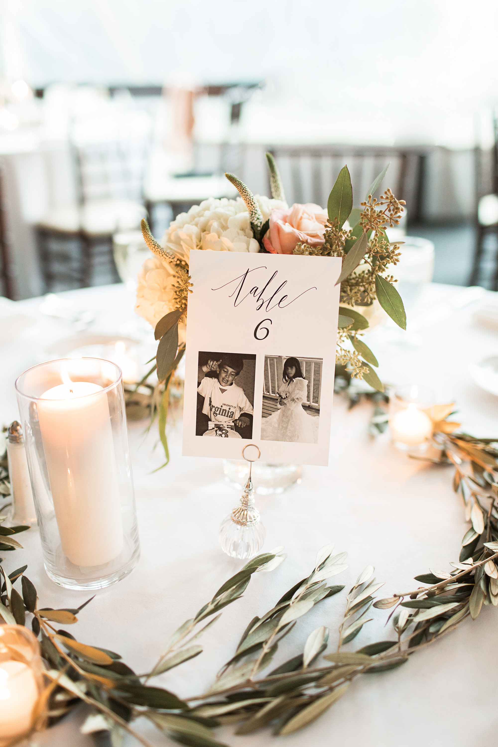 family photo table number