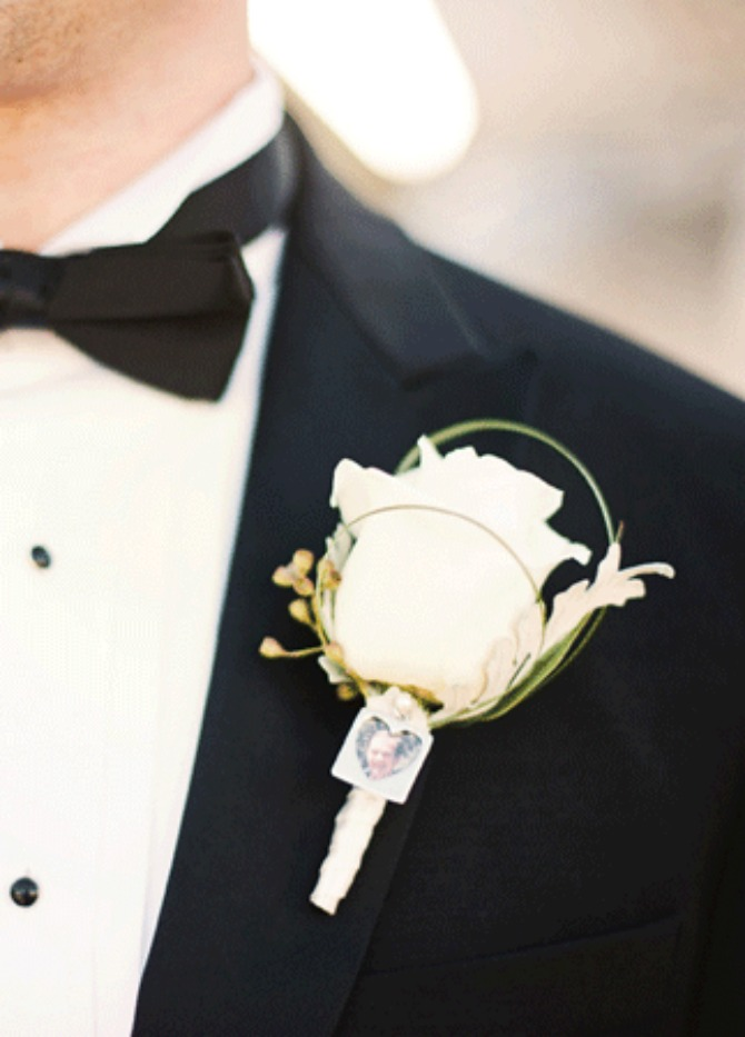 boutonniere family photo charm