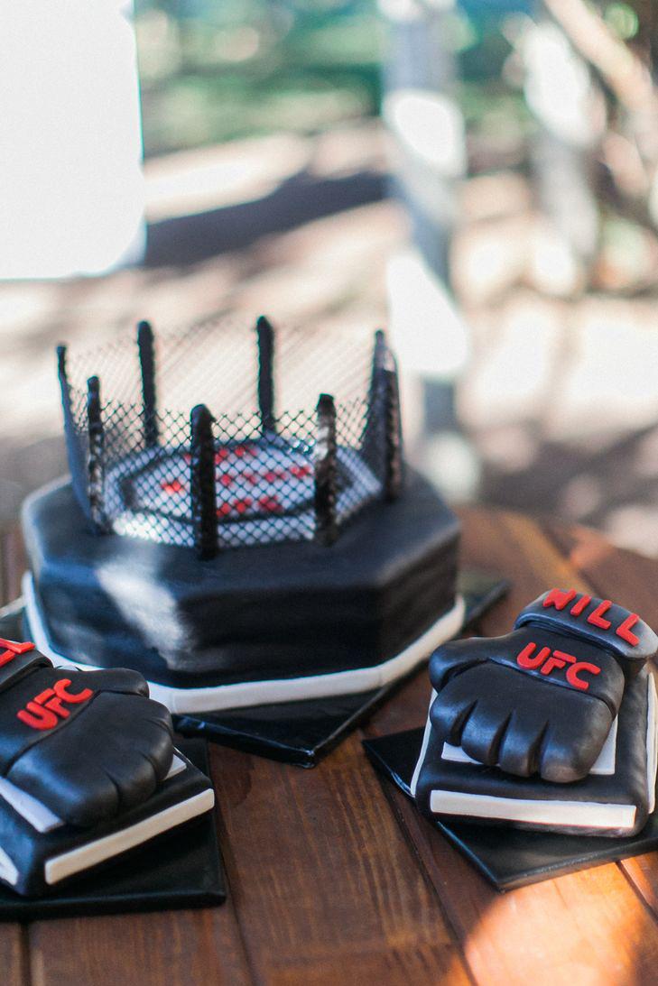 ufc groom cake