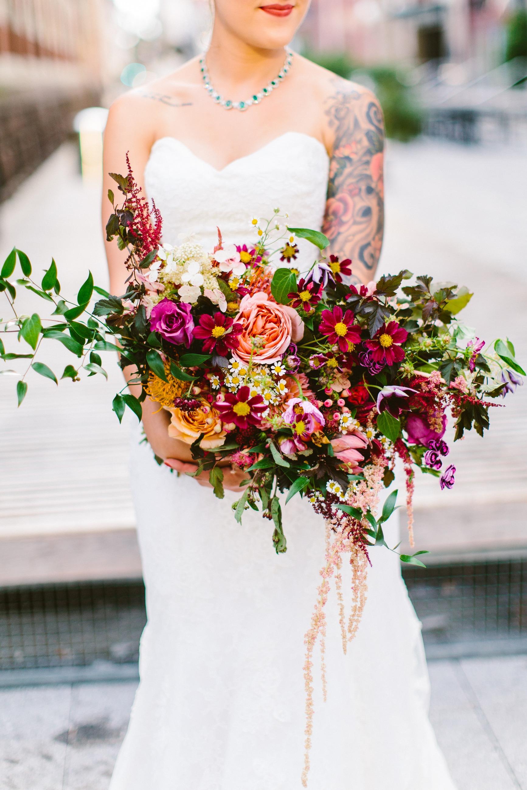 Deb & Meryl PA Bridal Bouquet