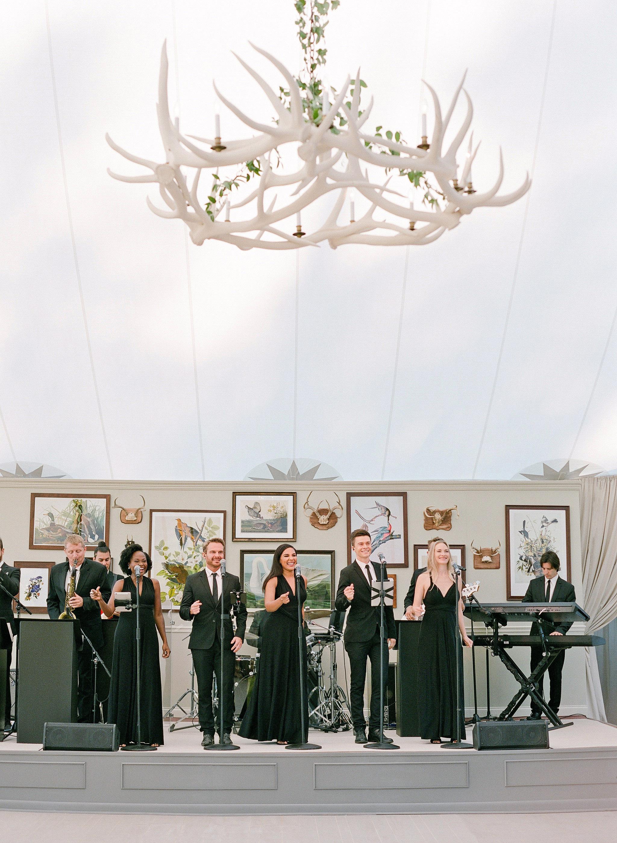 bessie john wedding band singing