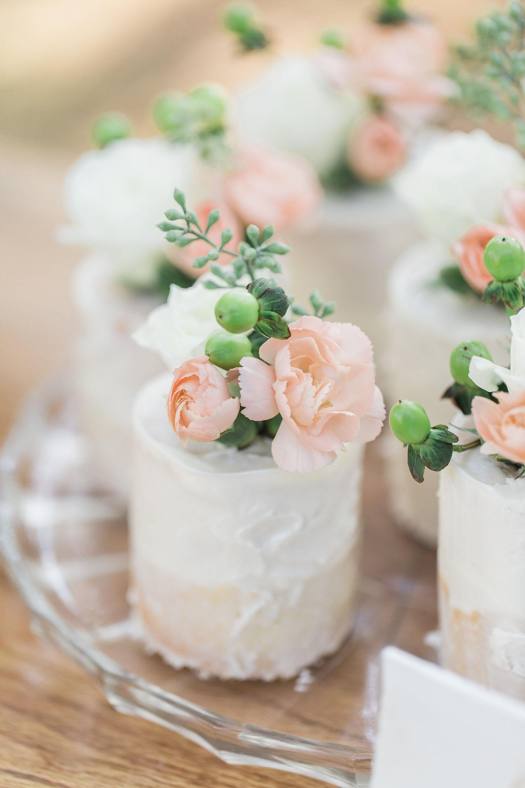 Mini Individual Wedding Cake