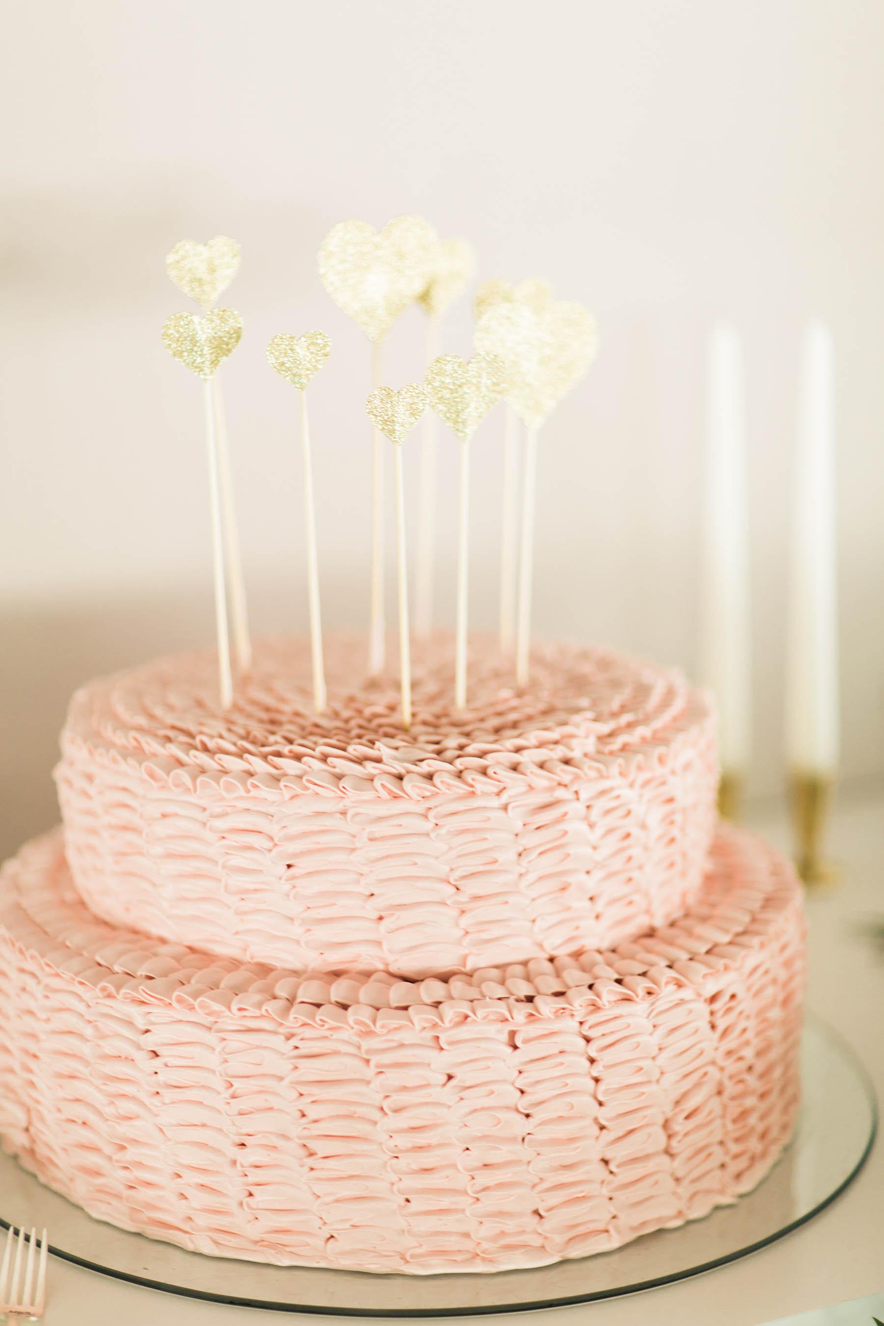 Woven Small Wedding Cake
