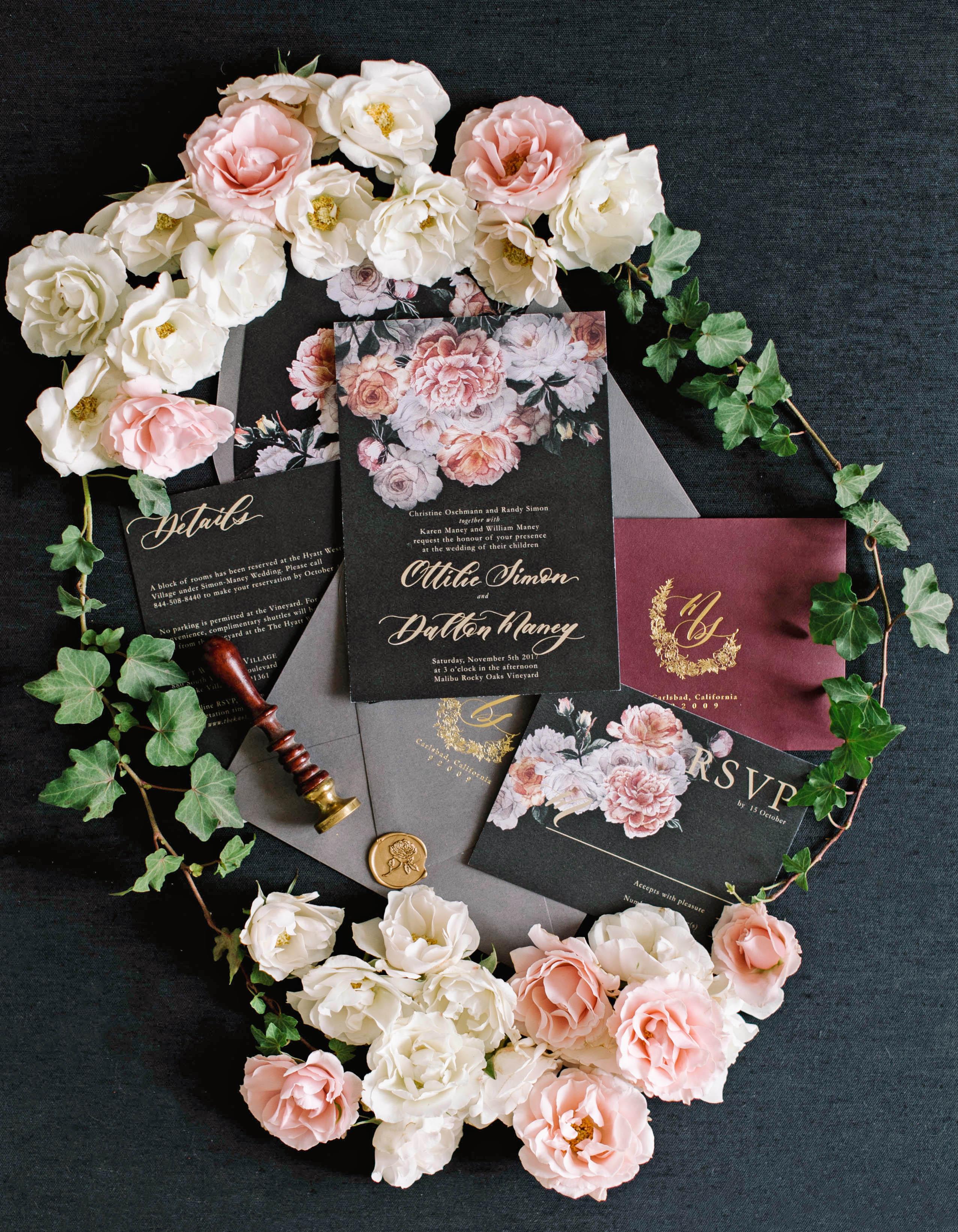 tillie dalton wedding stationery