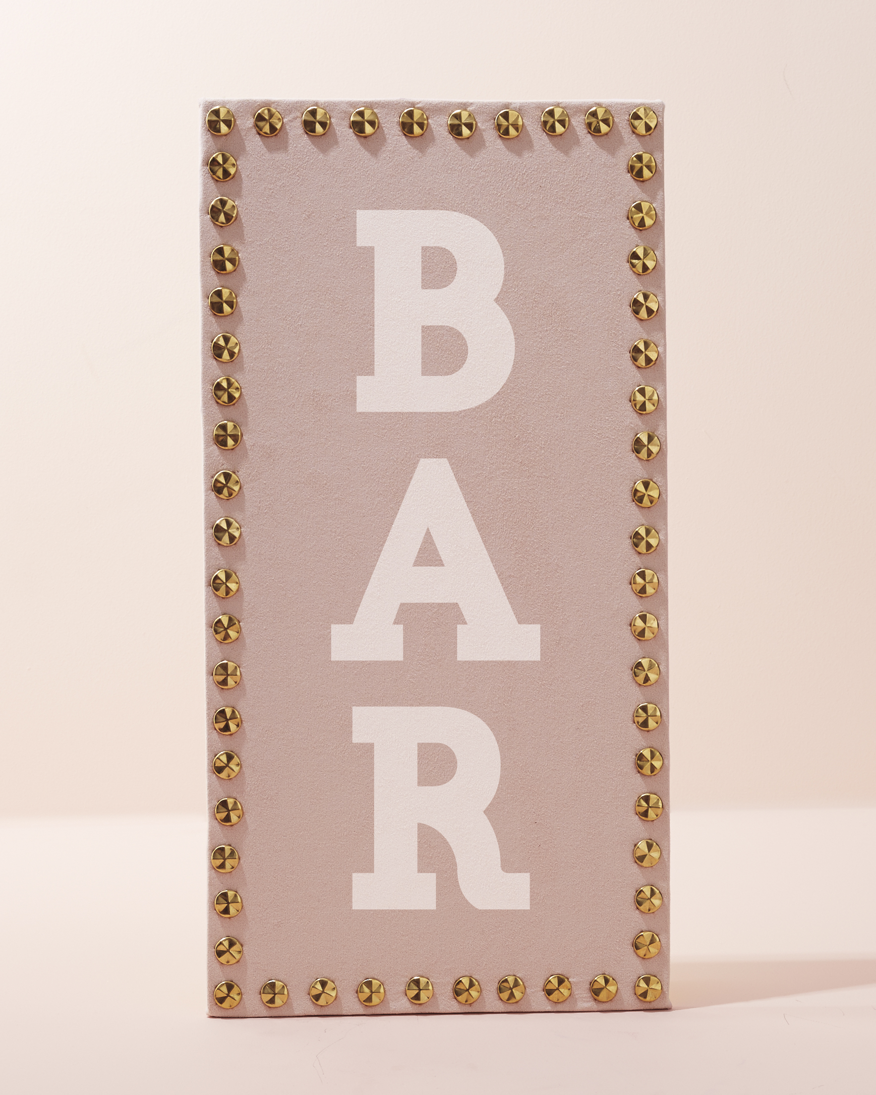 Studded Bar Sign