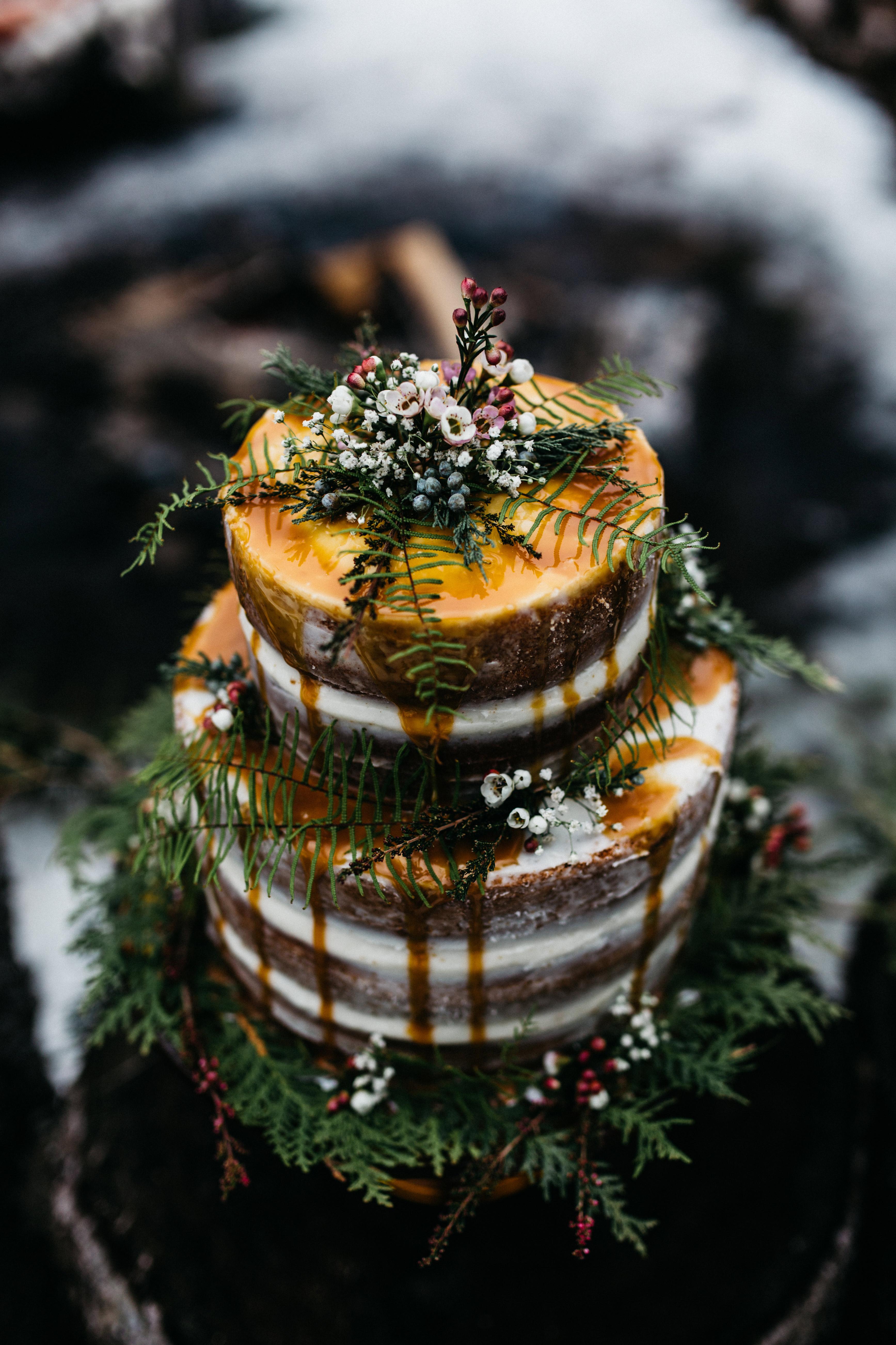 fall wedding cakes erin wheat