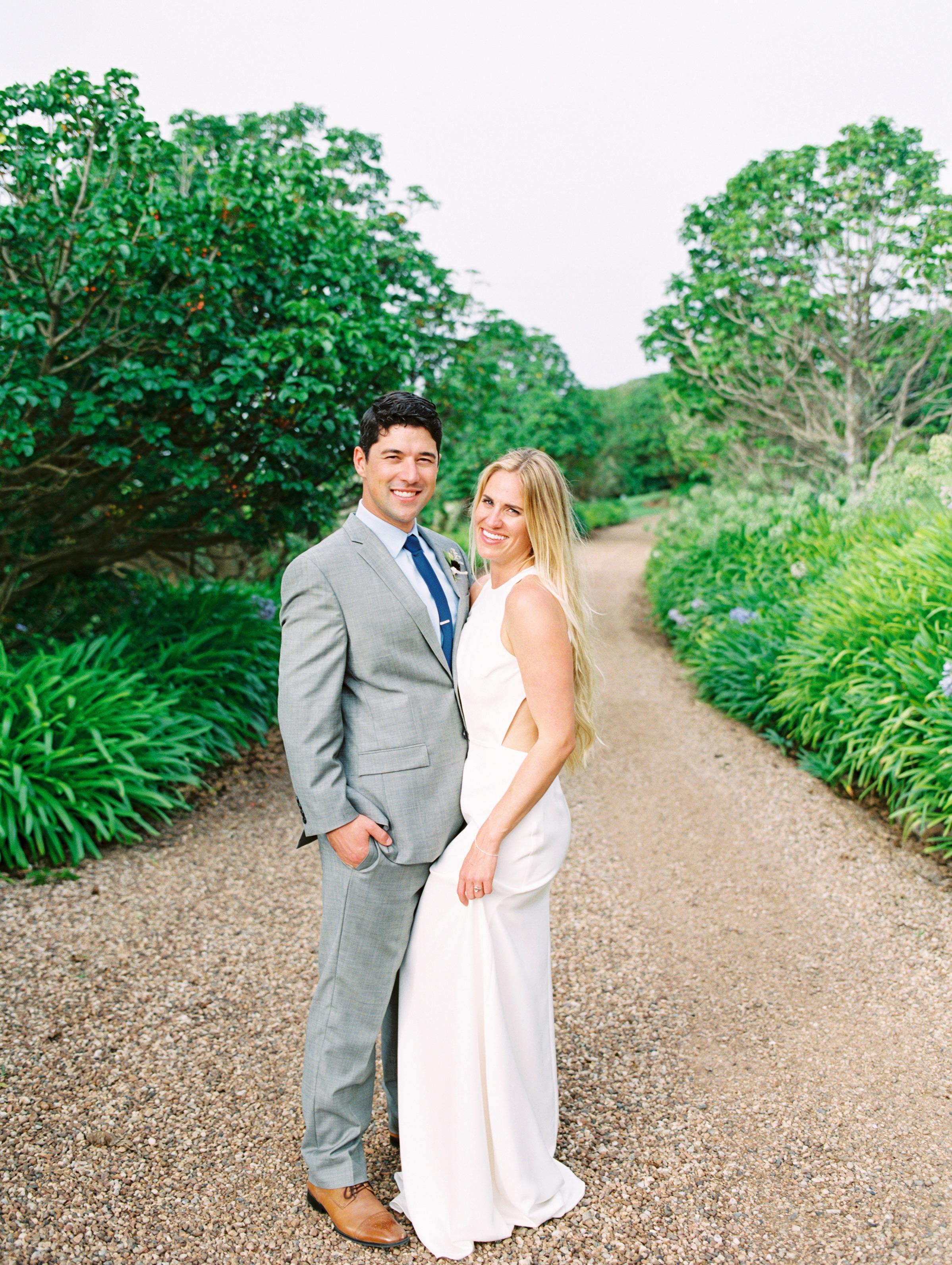 couple portrait on trail