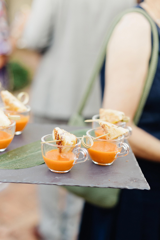 wedding food pairings elaine palladino