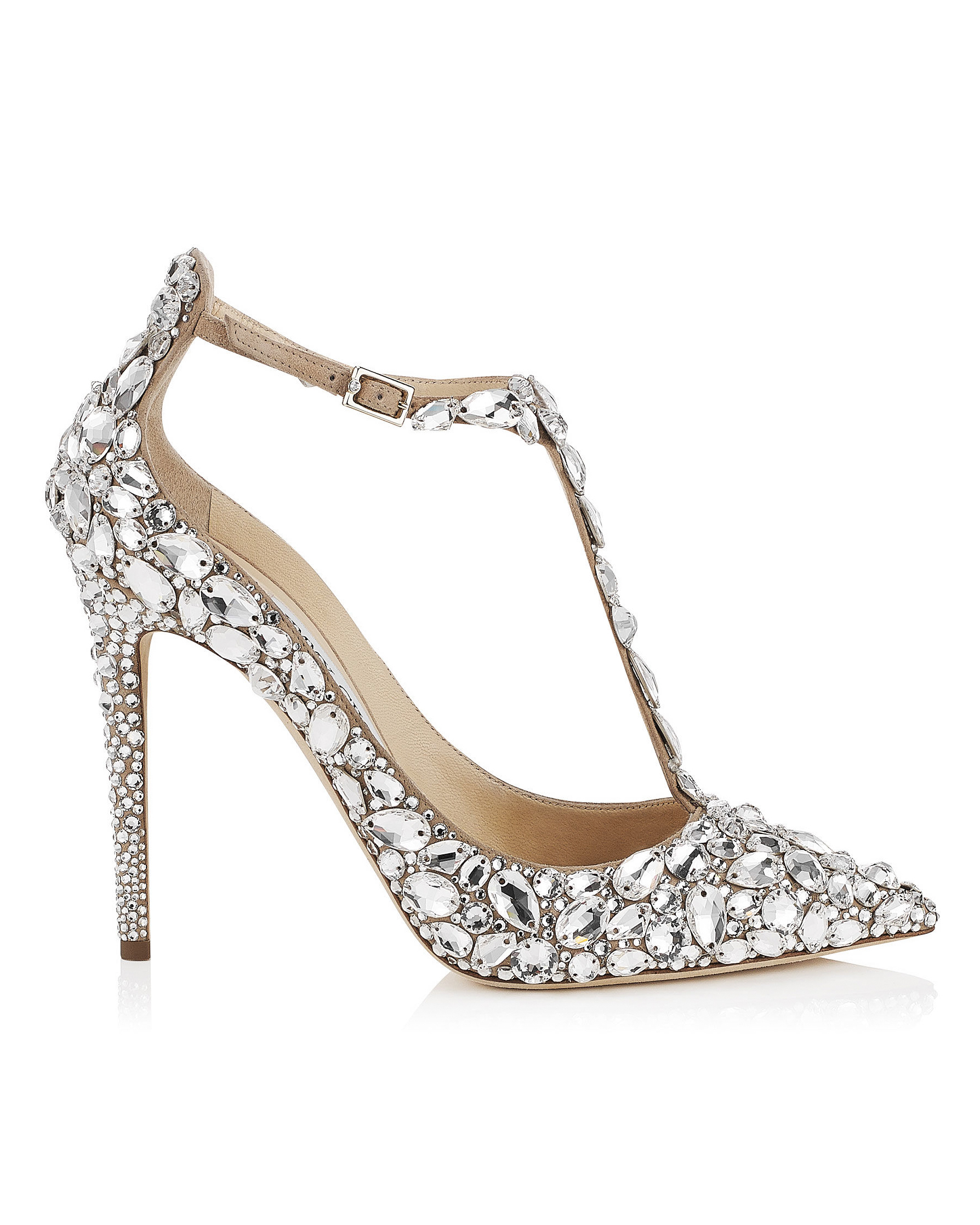 wedding shoes crystal