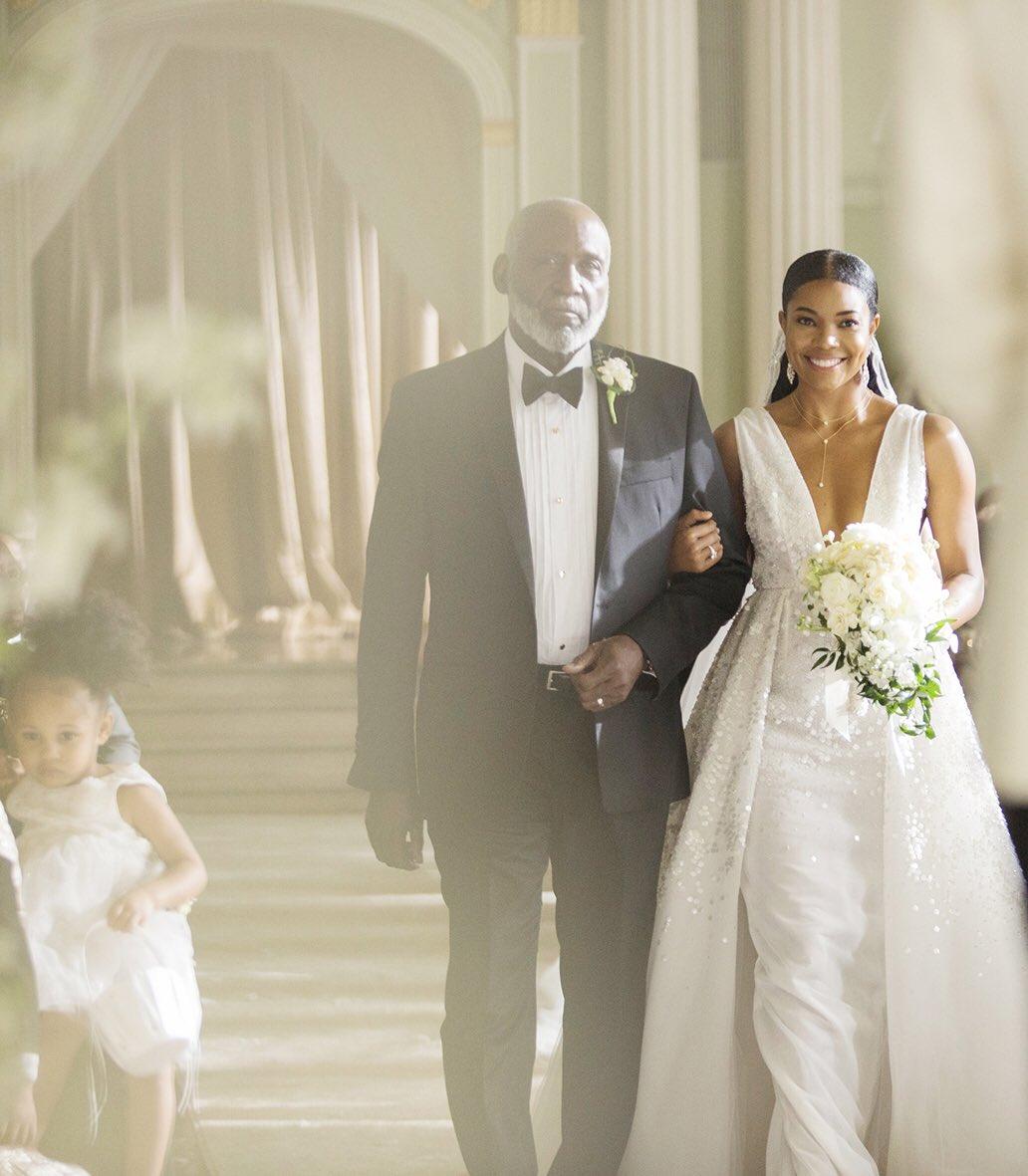 Being Mary Jane Gabrielle Union Wedding Dress