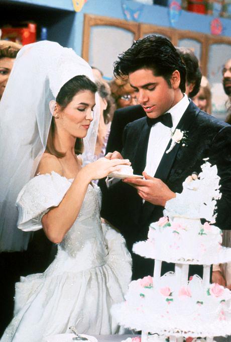 tv wedding dresses becky katsopolis full house