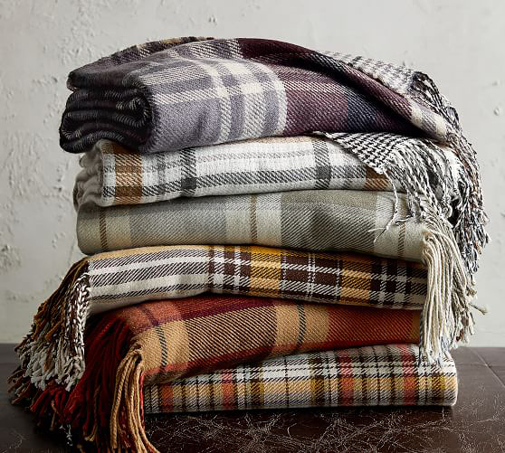 flannel throw