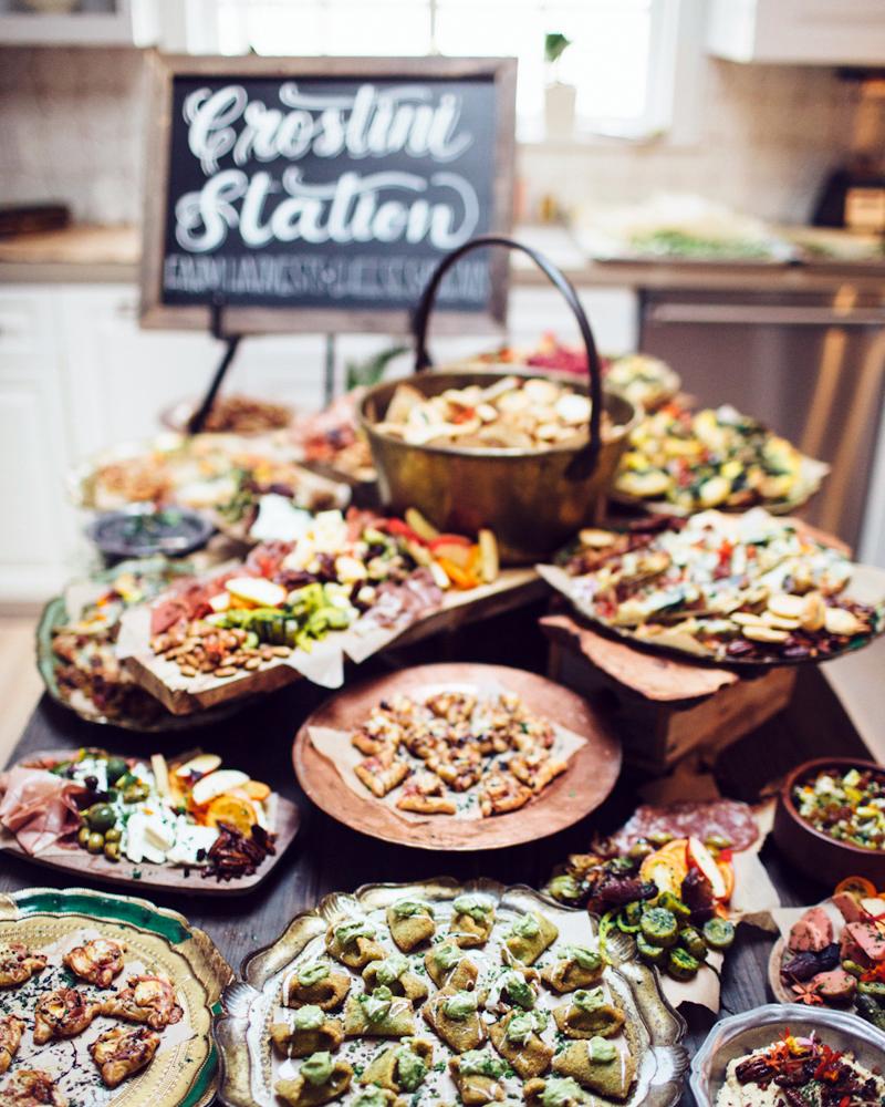 23 Delicious Food Bars For Your Wedding Martha Stewart