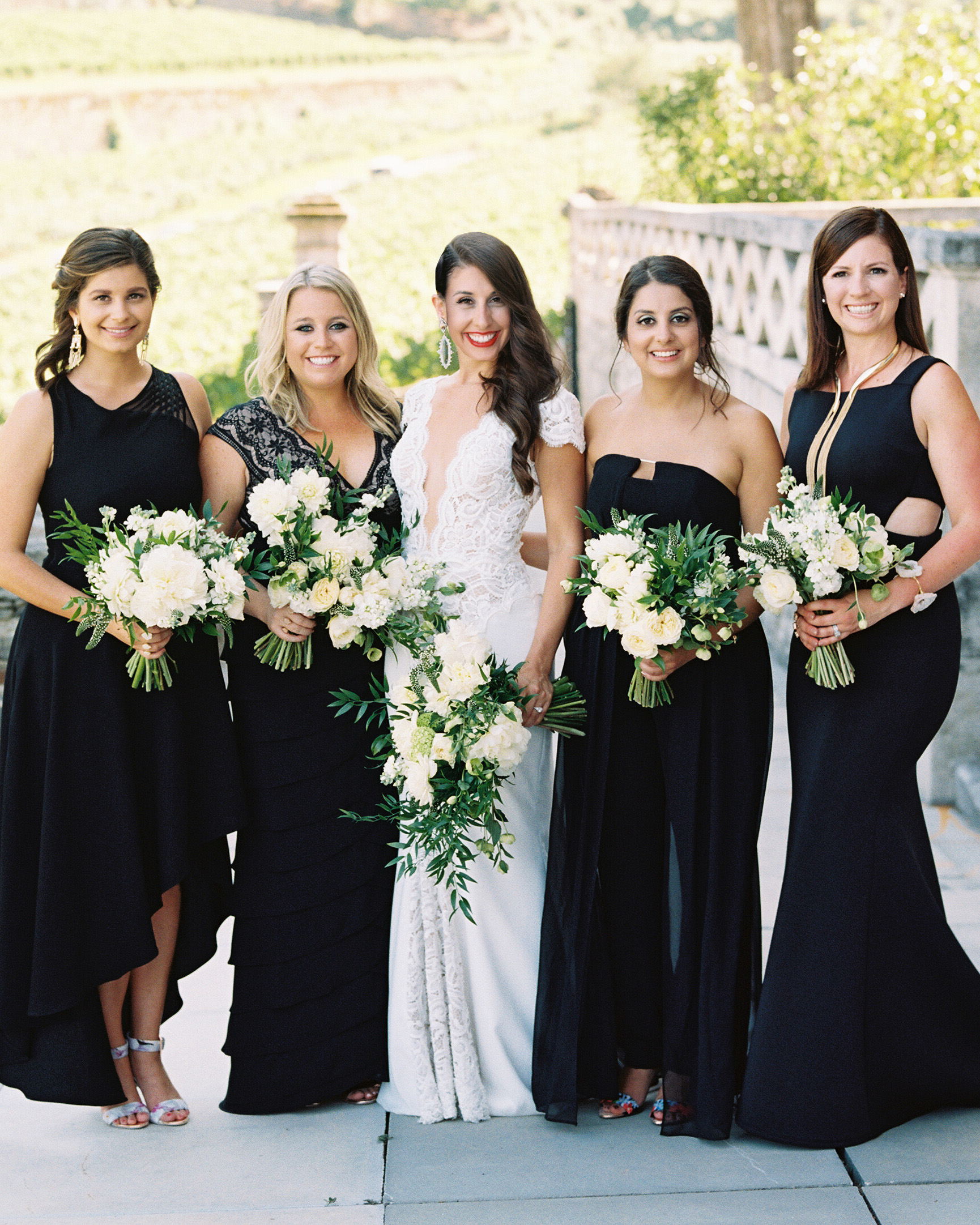 jeannette taylor wedding portugal bridal party
