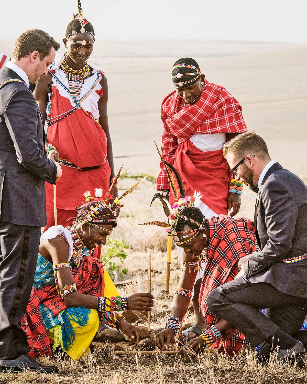 grant lance wedding africa ceremony