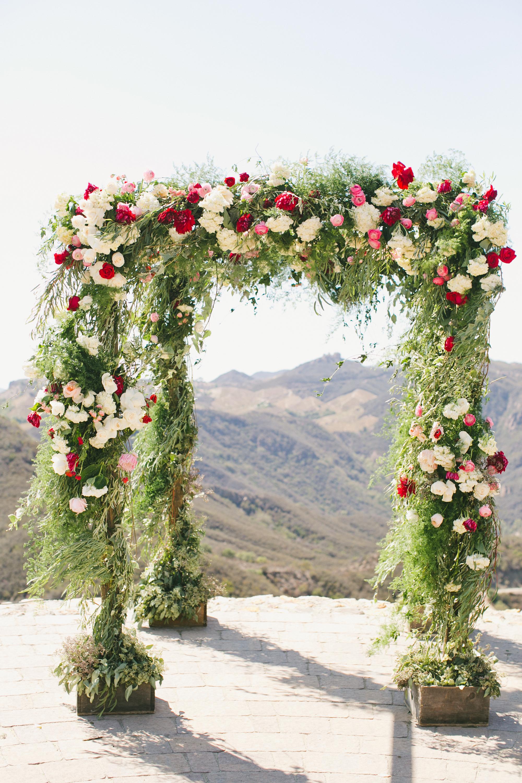 unity ceremony arch
