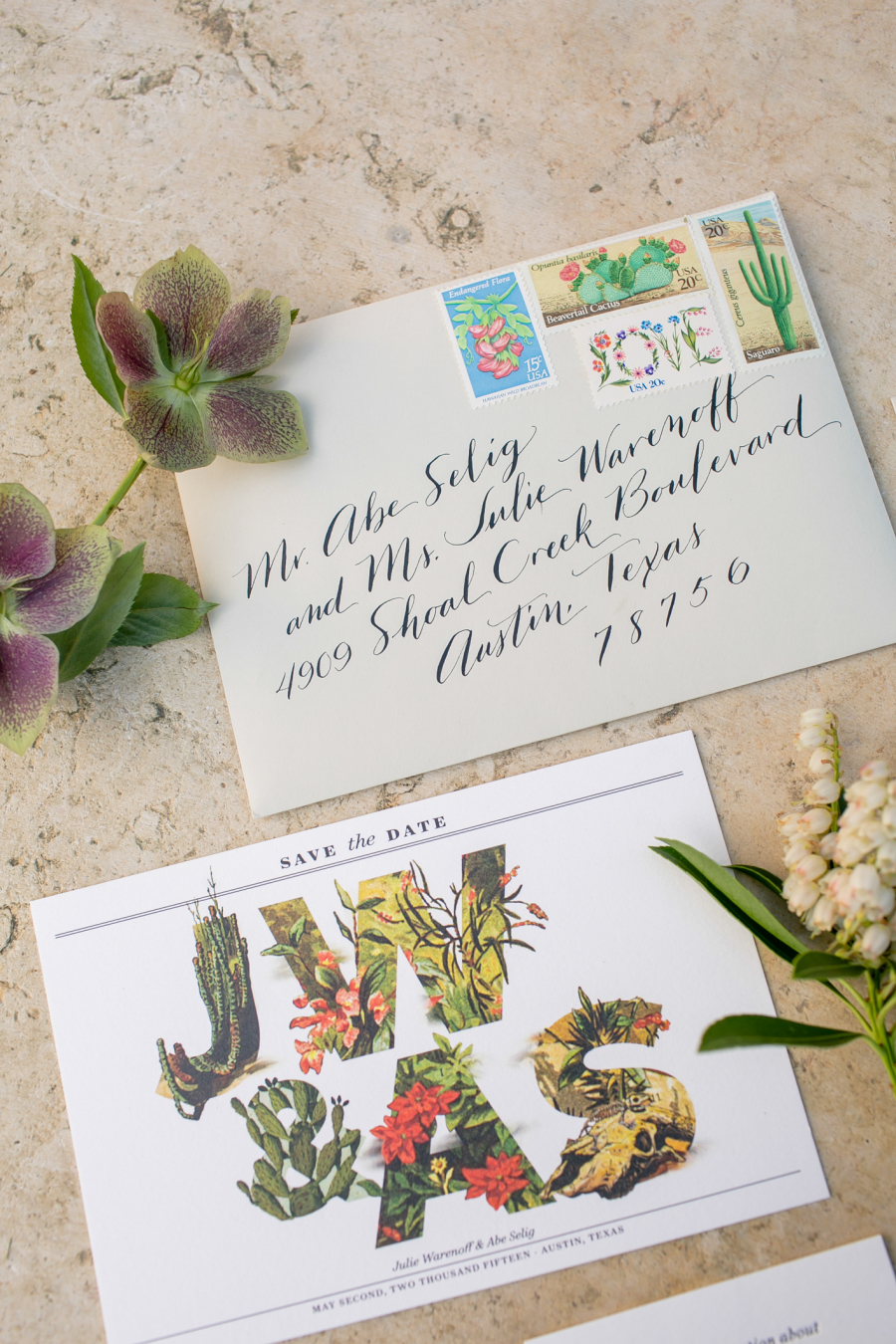flora save-the-date