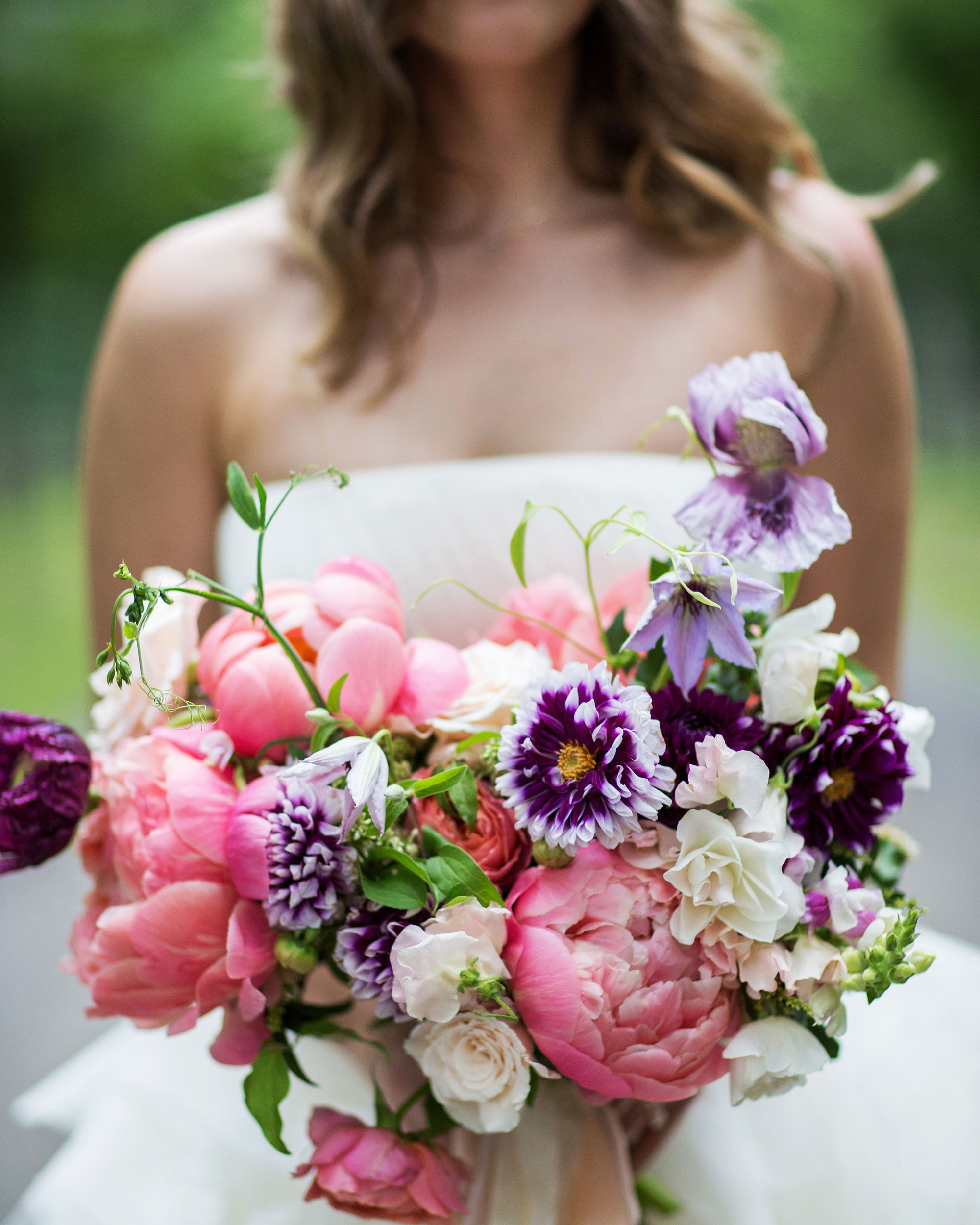 Pink-and-Purple Bouquet