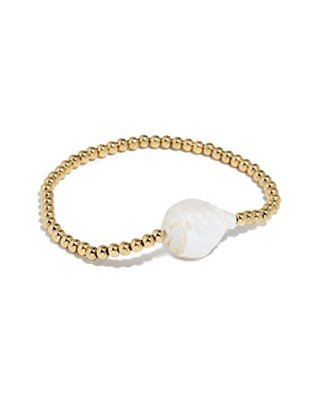 Cultured Pearl Bangle Bracelet