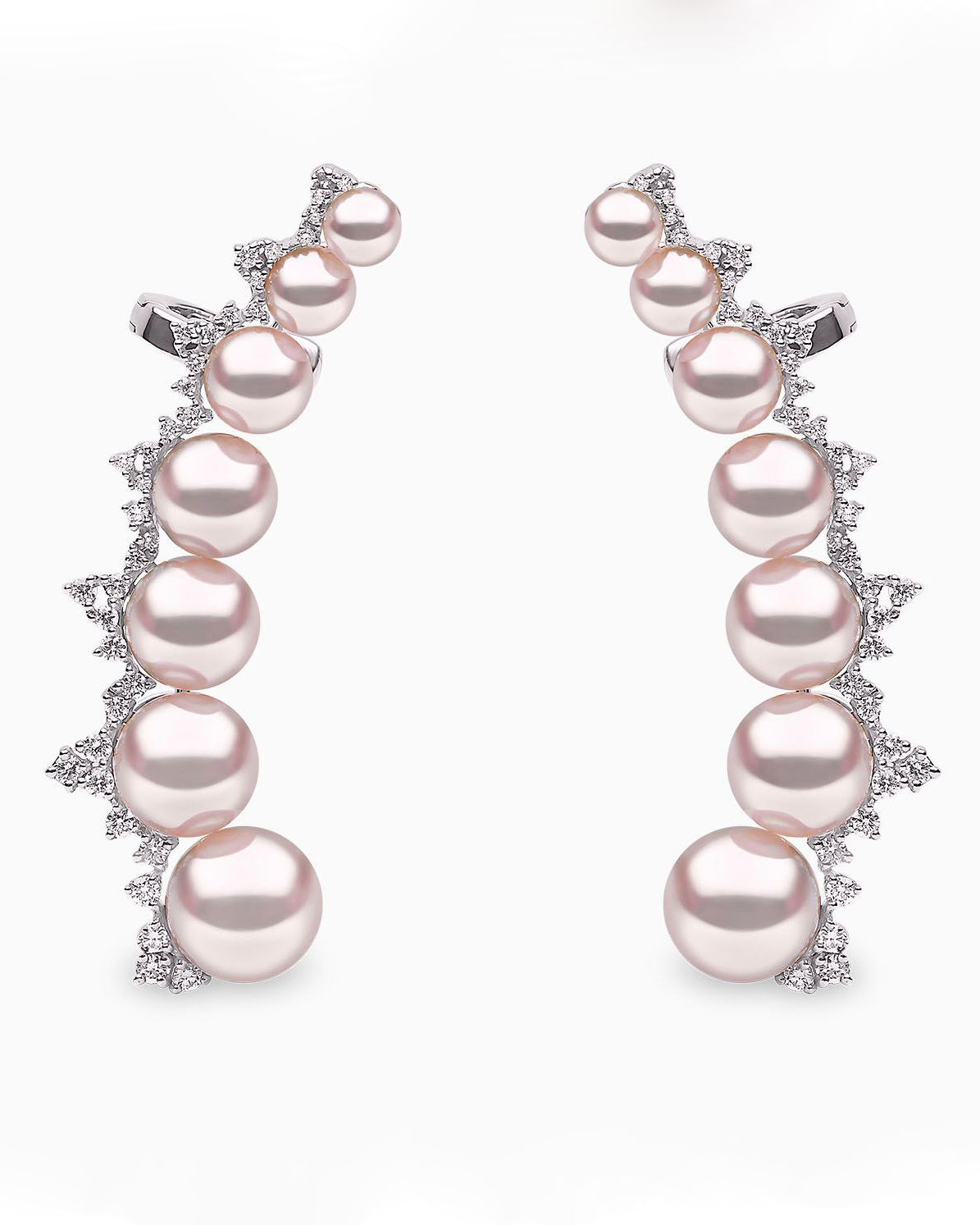 "Yoko London ""Novus"" Akoya Pearl Earrings"