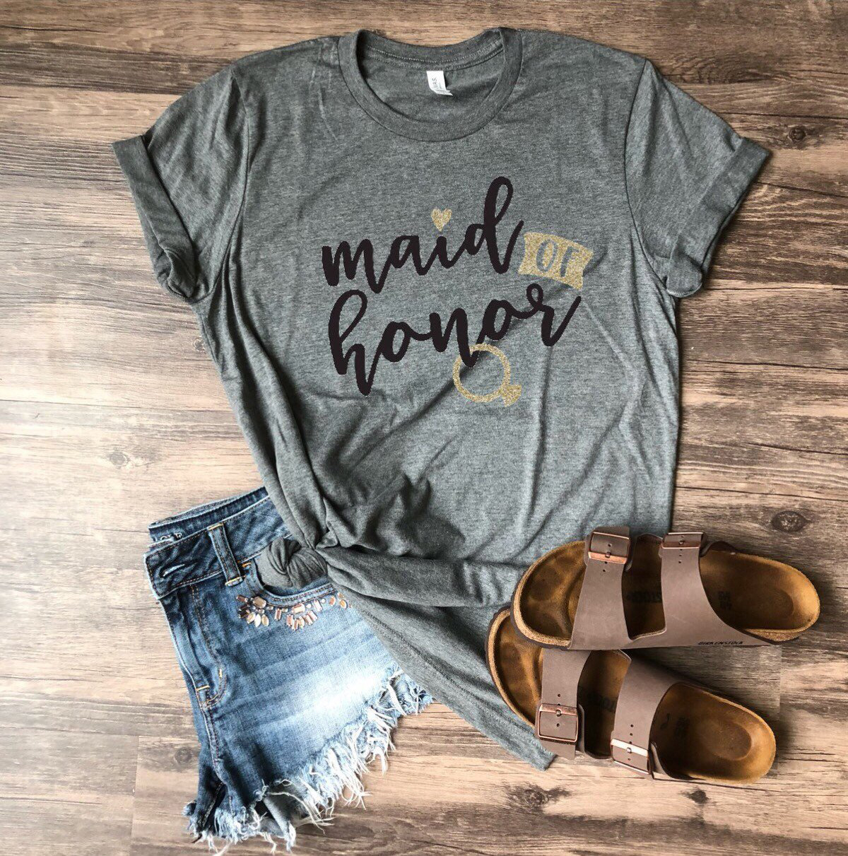 maid of honor proposal t-shirt