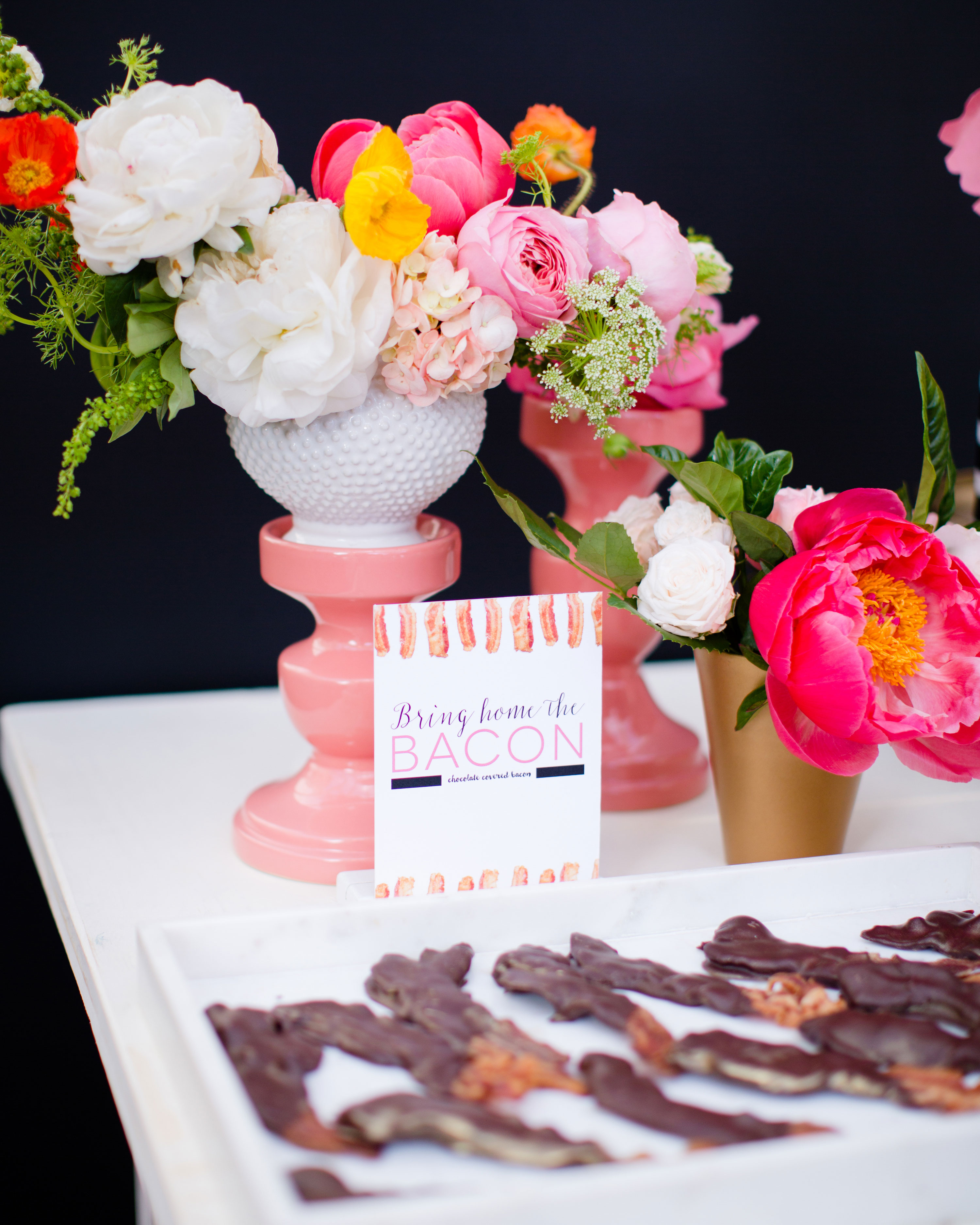 Chocolate-Covered Bacon Wedding Favors