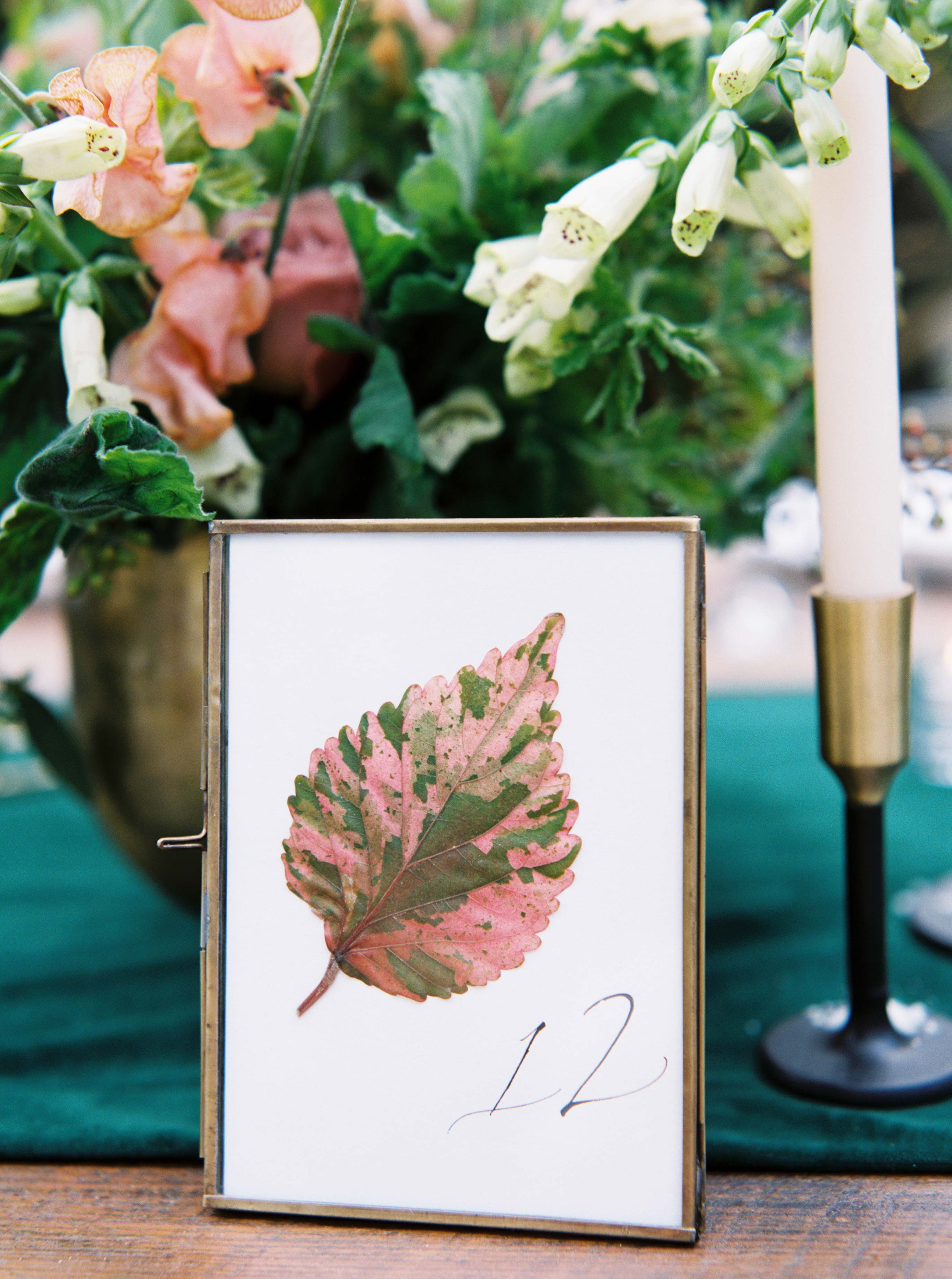 wedding table sign