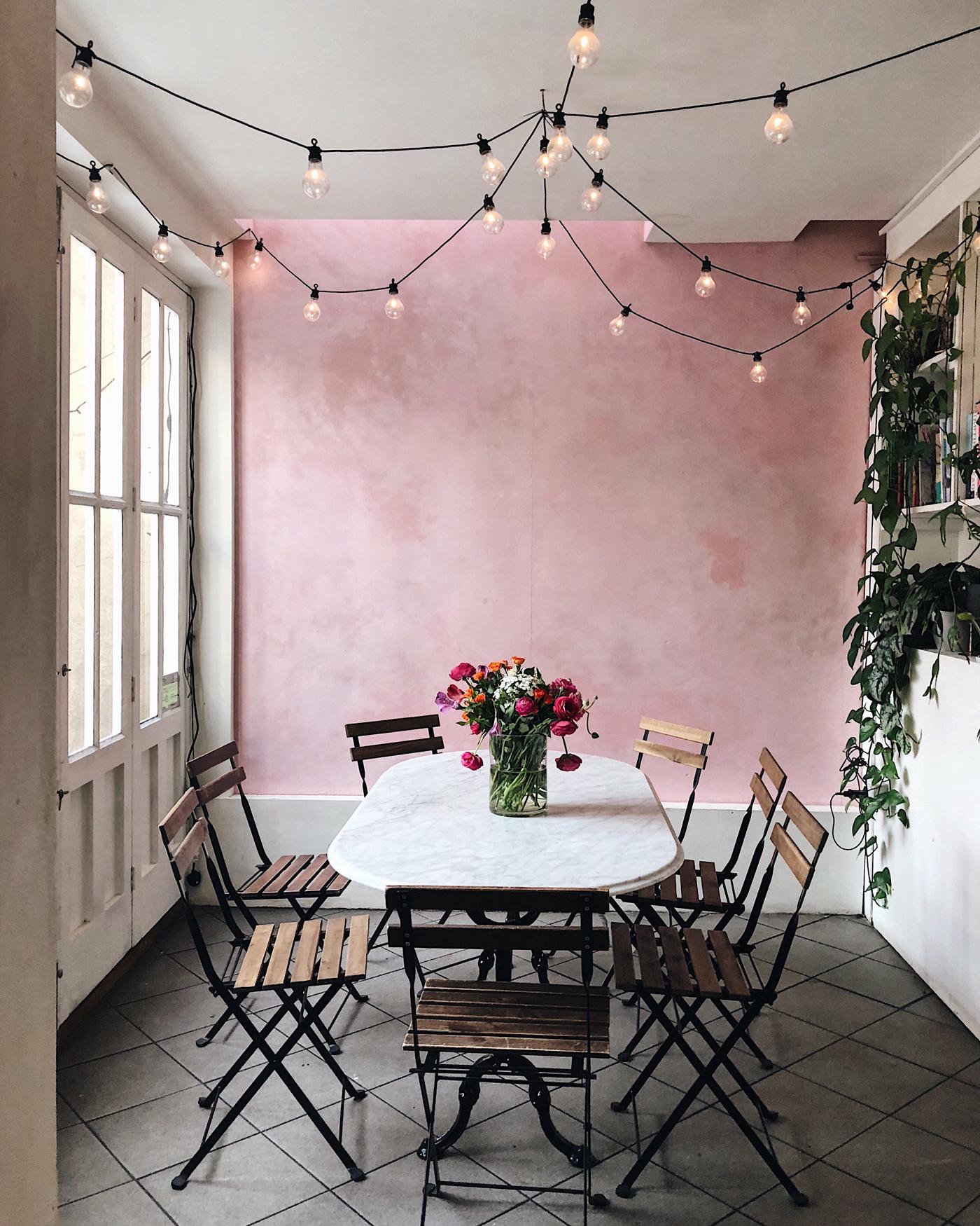 ethereal garden room