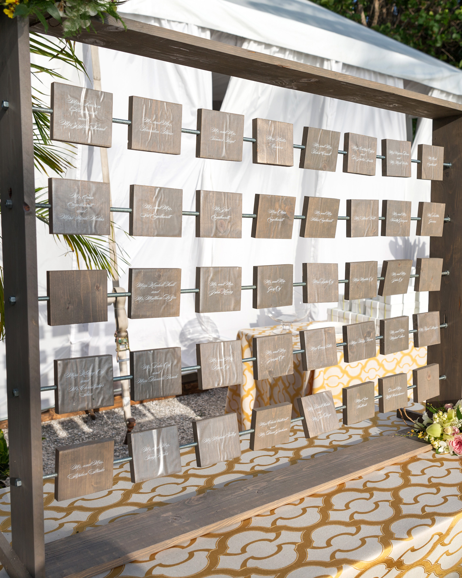 The Escort Card Display