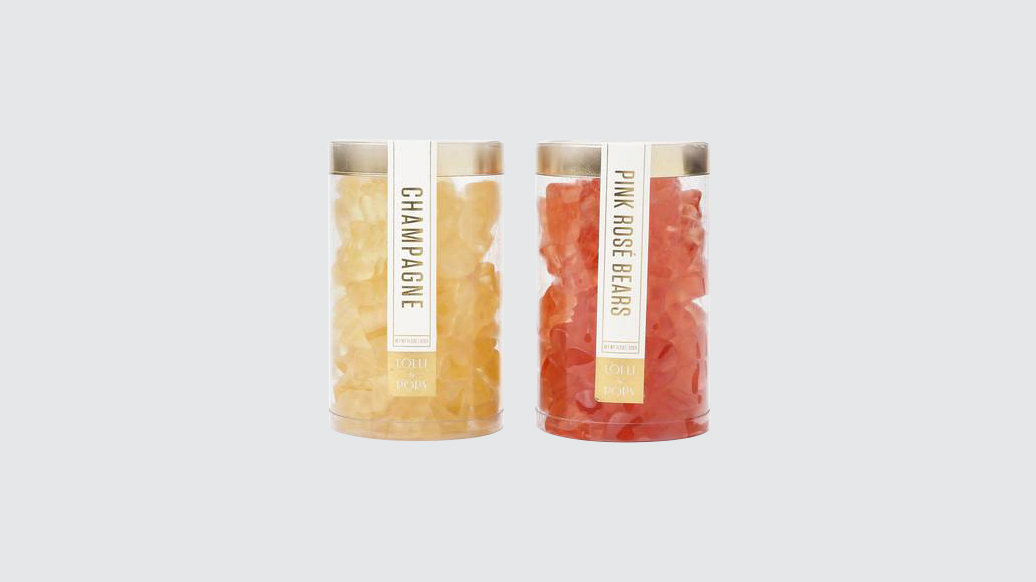 lolli and pops champagne gummies