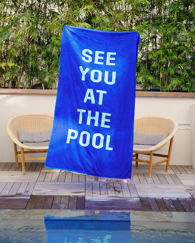 Bridesmaids Gifts Under 50, See You at the Pool Towel