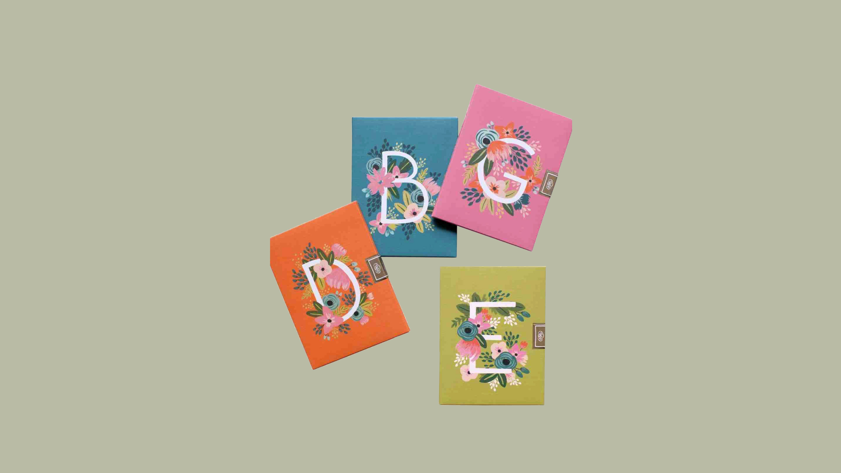 rifle paper co monogrammed stationery