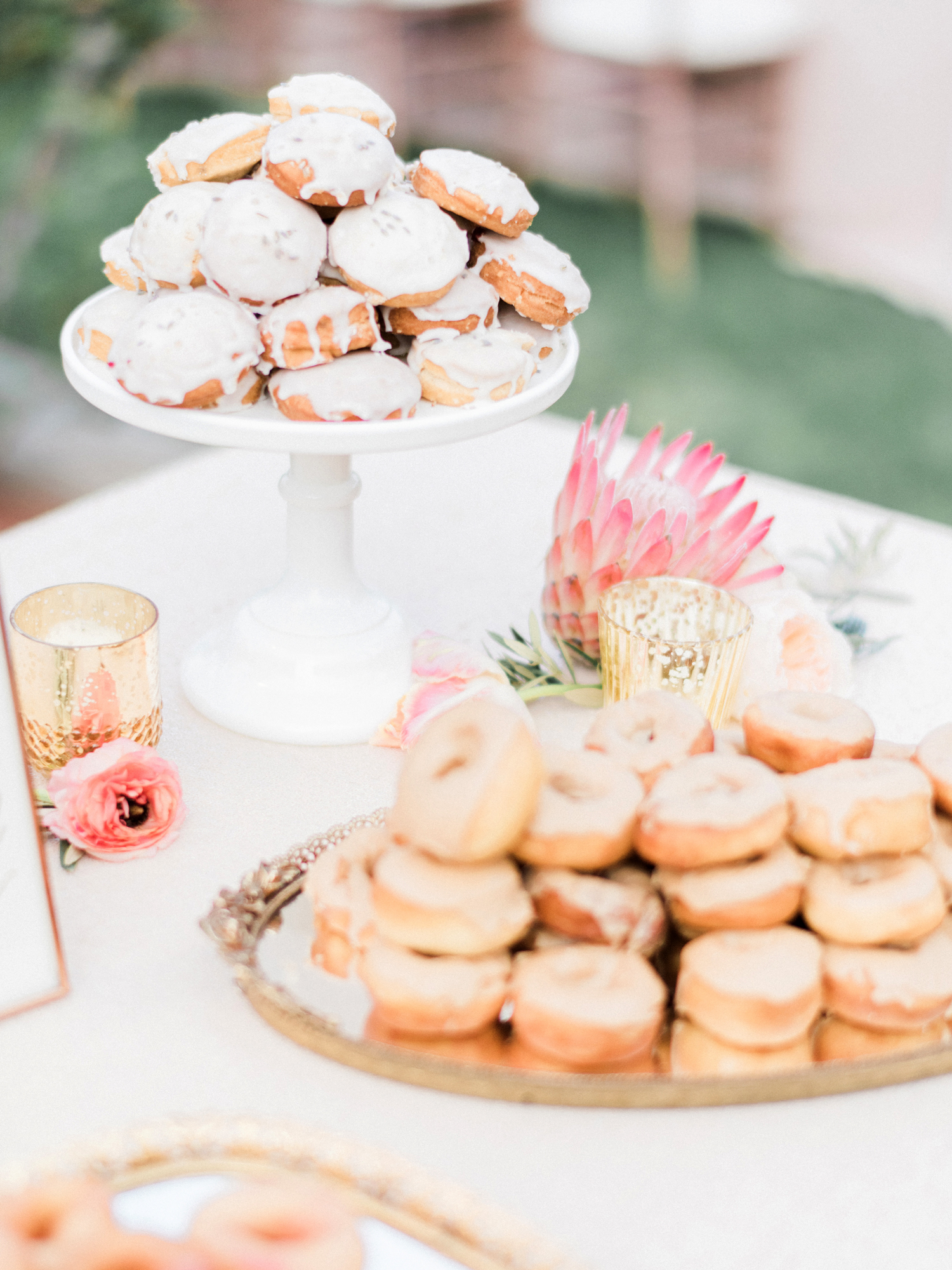 wedding donuts ether and smith
