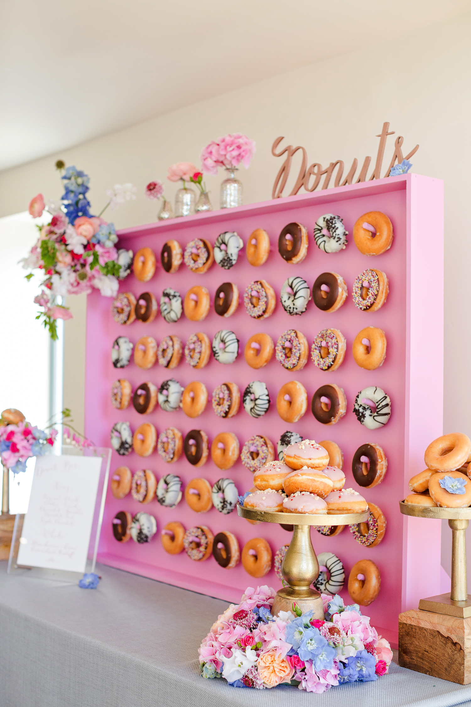 wedding donuts marianne taylor