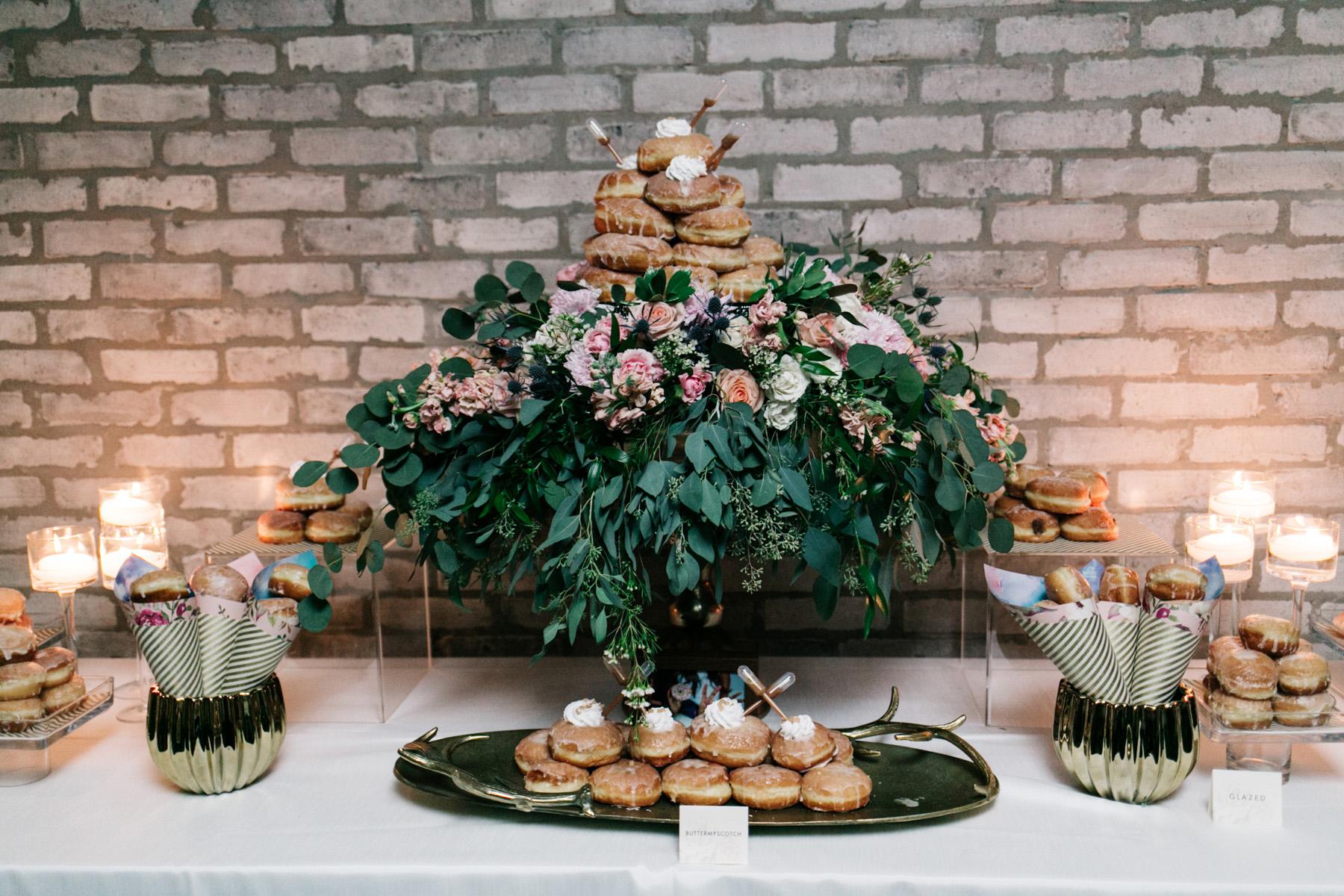 wedding donuts the love studio
