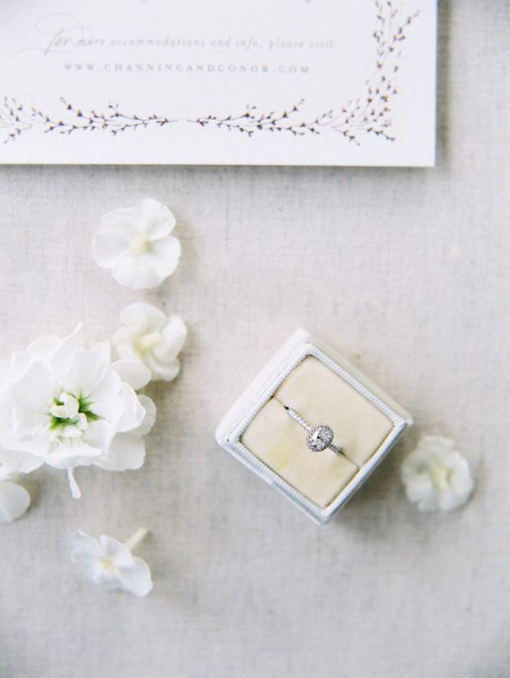 engagement rings oval shaped diamond with diamond set band