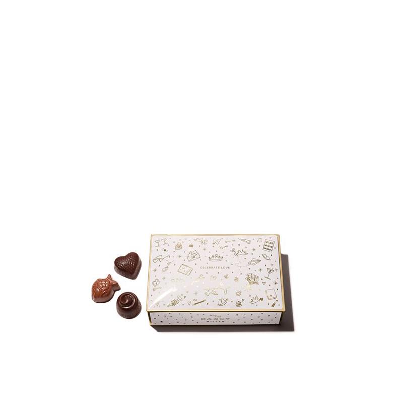 tin box of chocolate candies