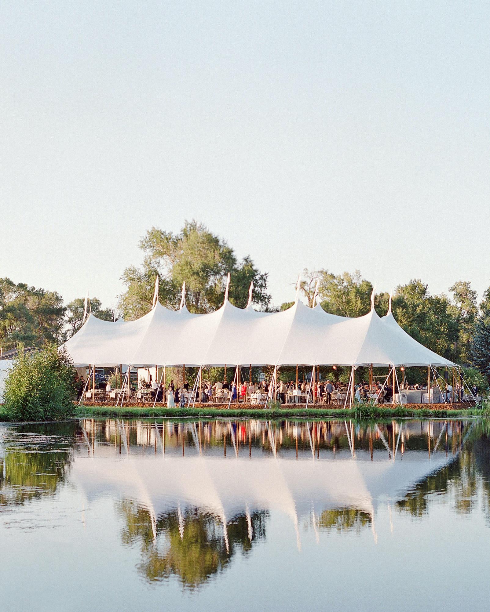bessie john wedding tent
