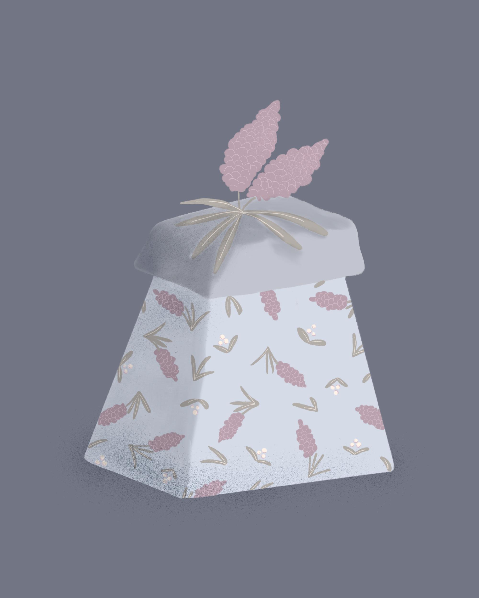 Ring Bearer Gift Guide, Illustrated Gift Box
