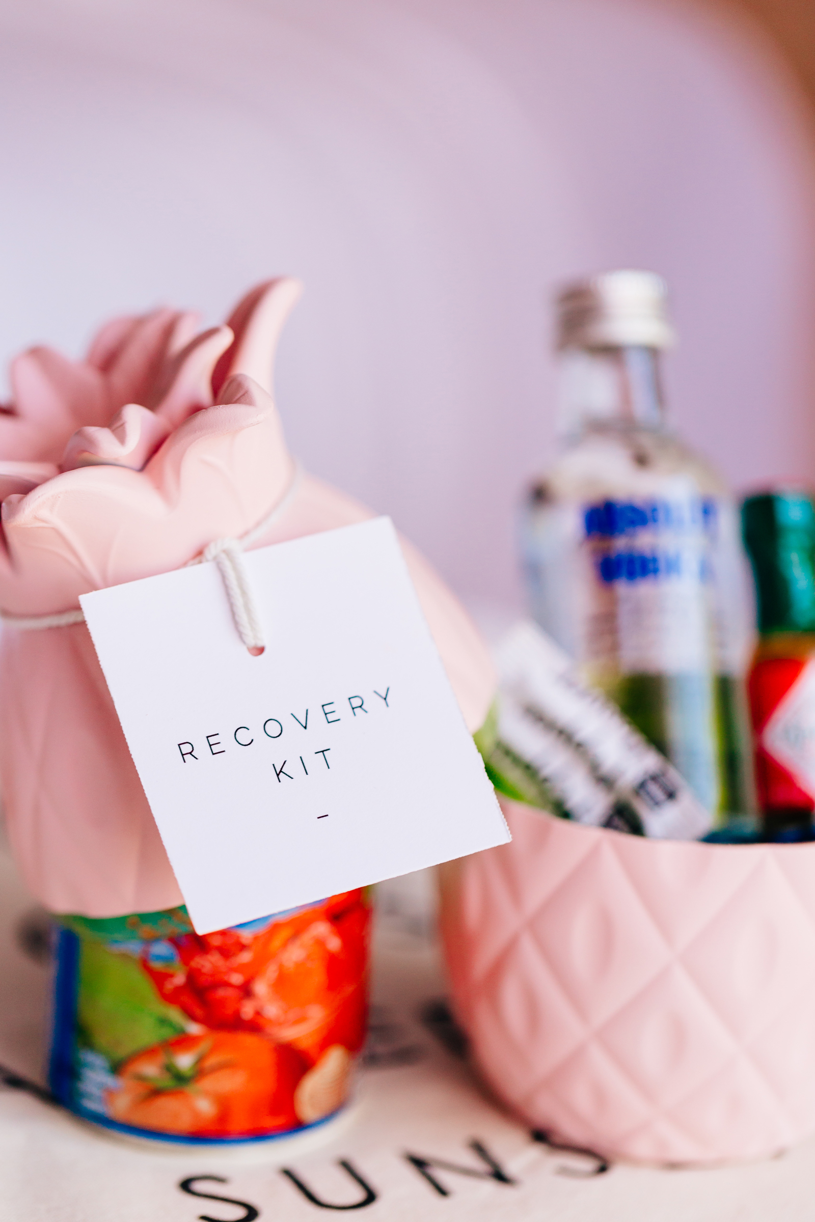 Recovery Kits bachelorette party favors