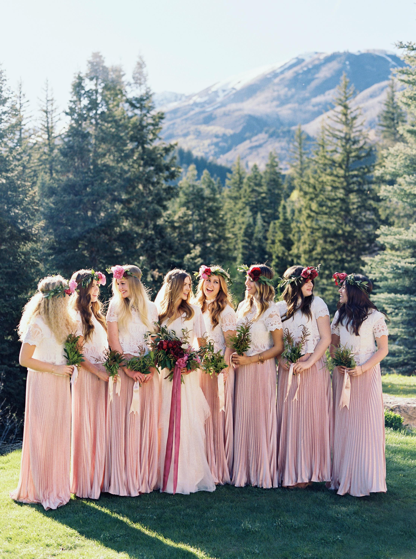 ciera preston wedding bridesmaids