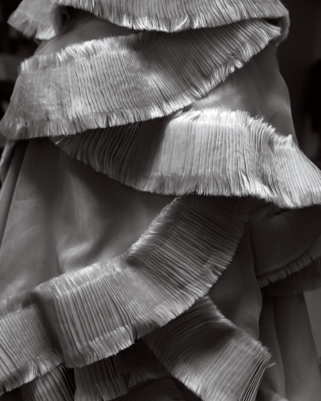 jess todd wedding seattle gray dress detail