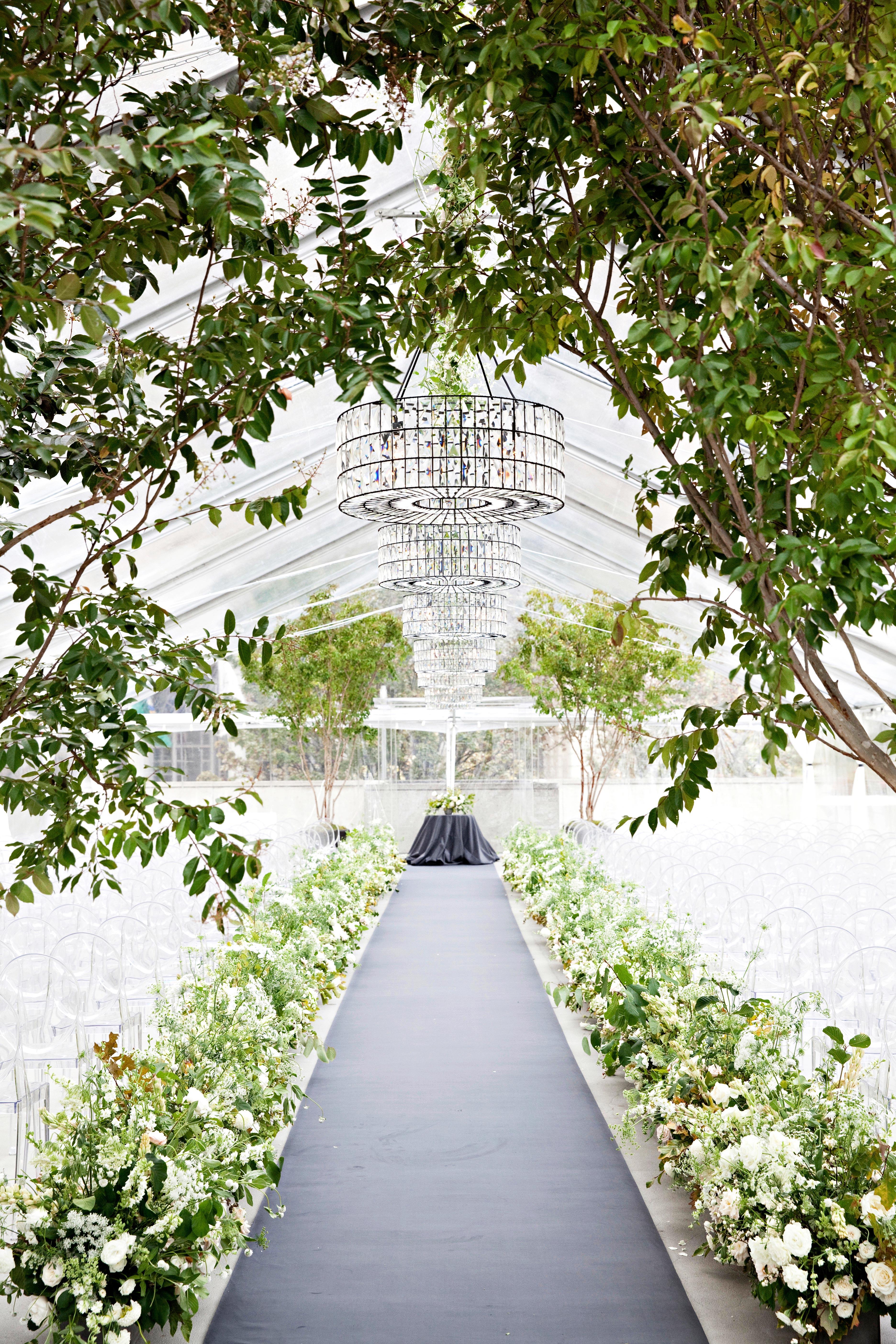 jess todd wedding seattle secret garden ceremony