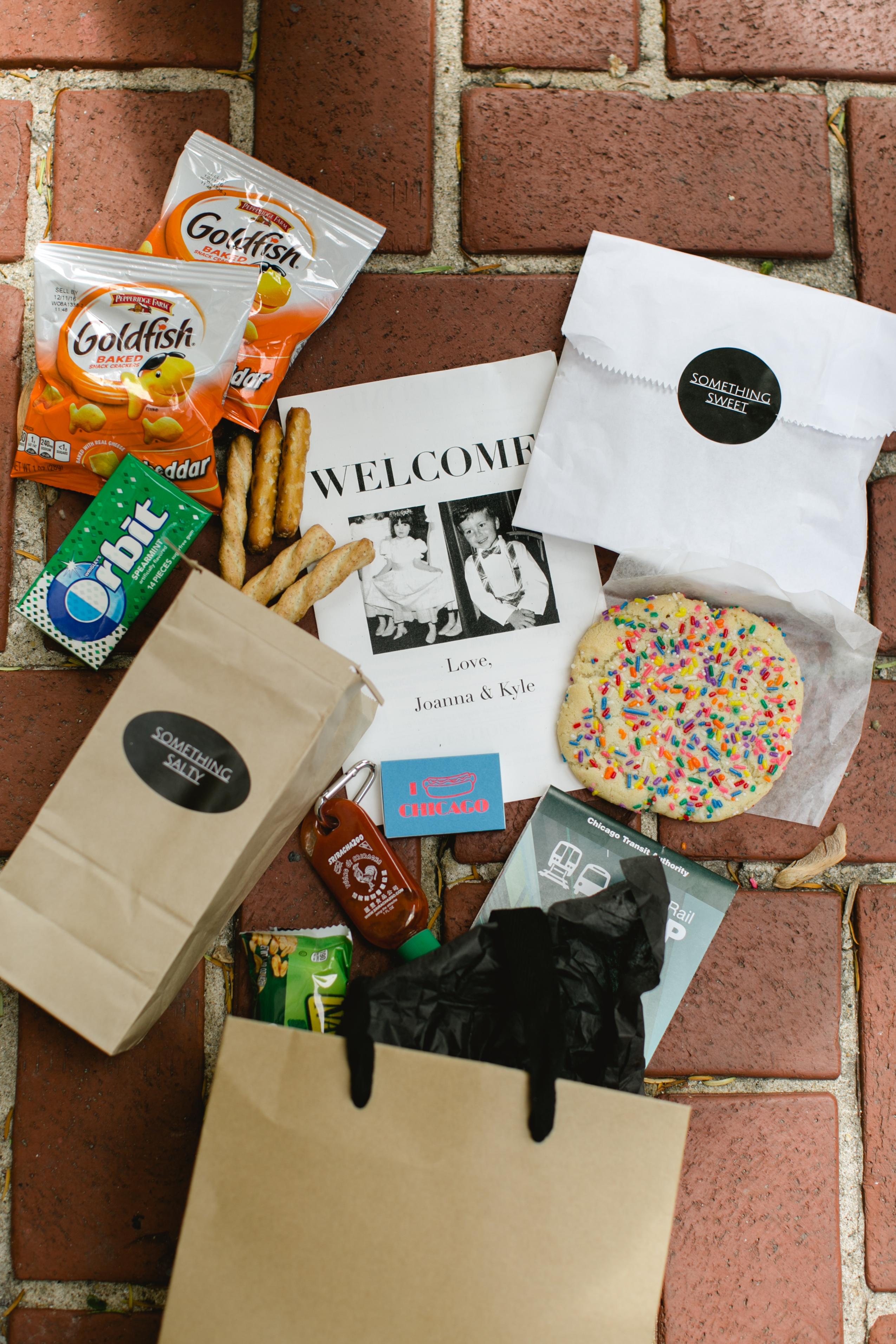 wedding welcome bag