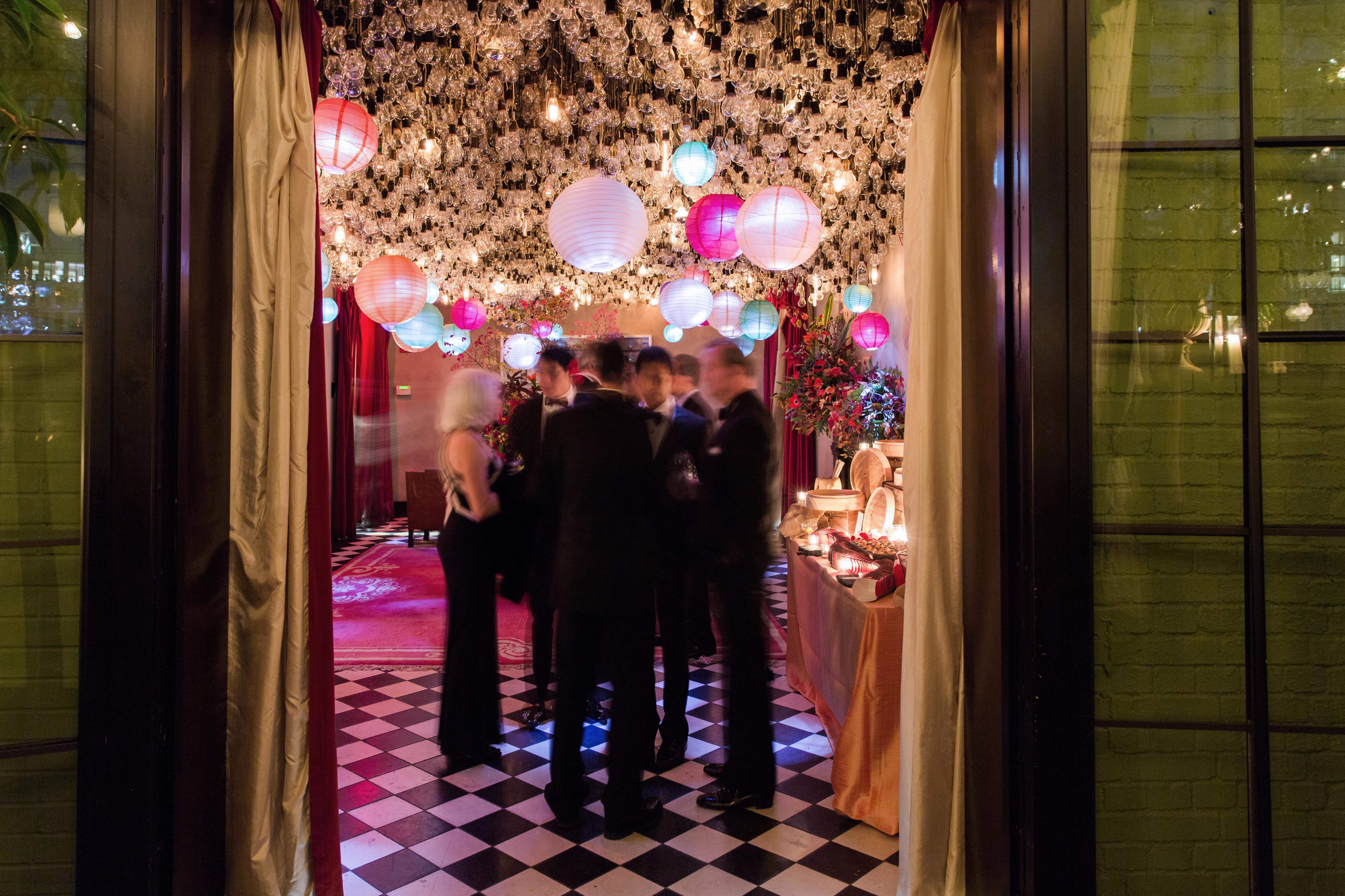 glara matthew wedding lanterns
