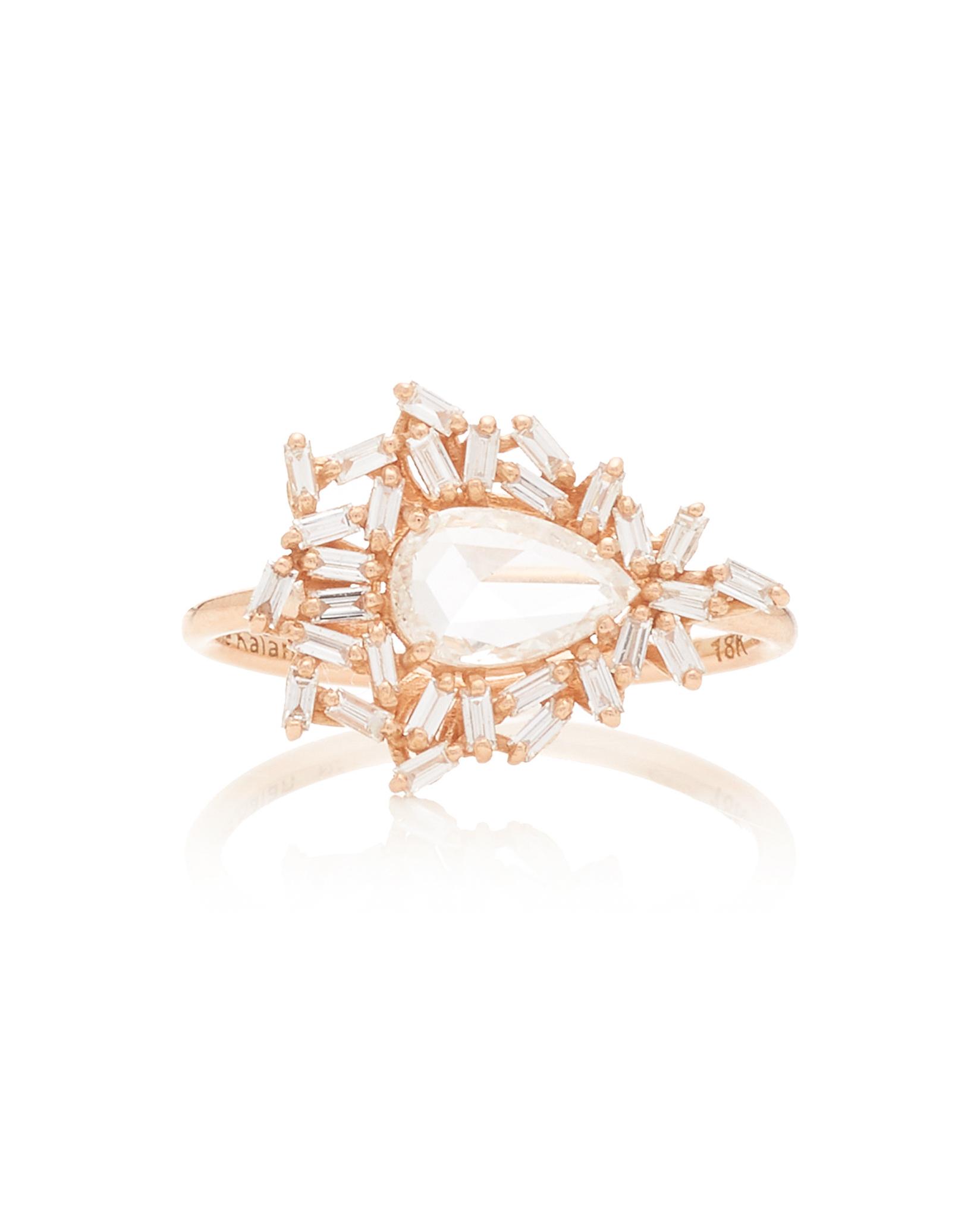 18-Karat Rose Gold Ring