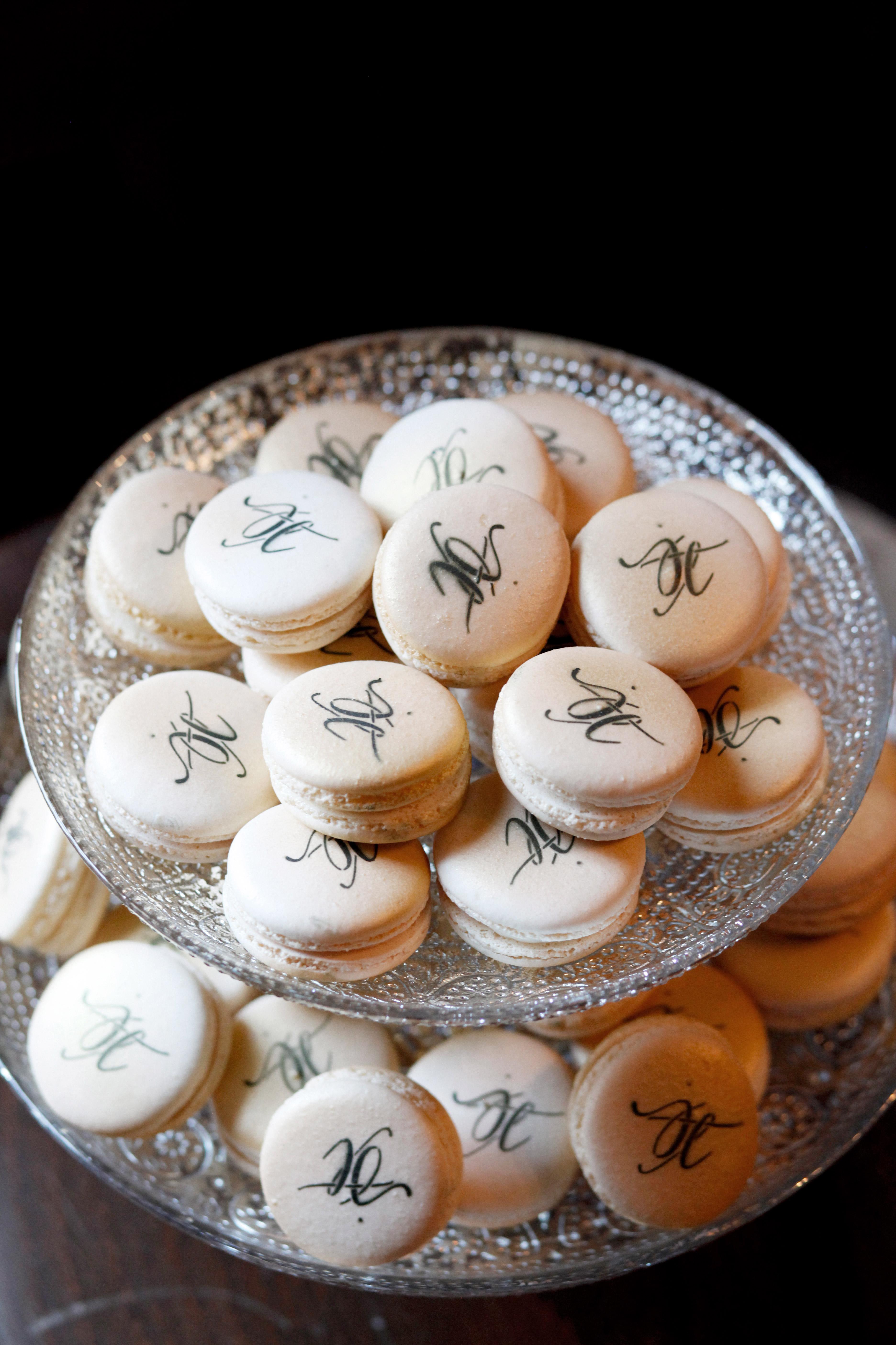 bridal shower macarons
