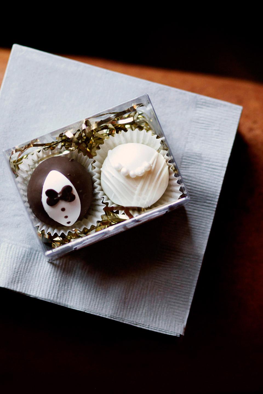 bridal shower cake balls