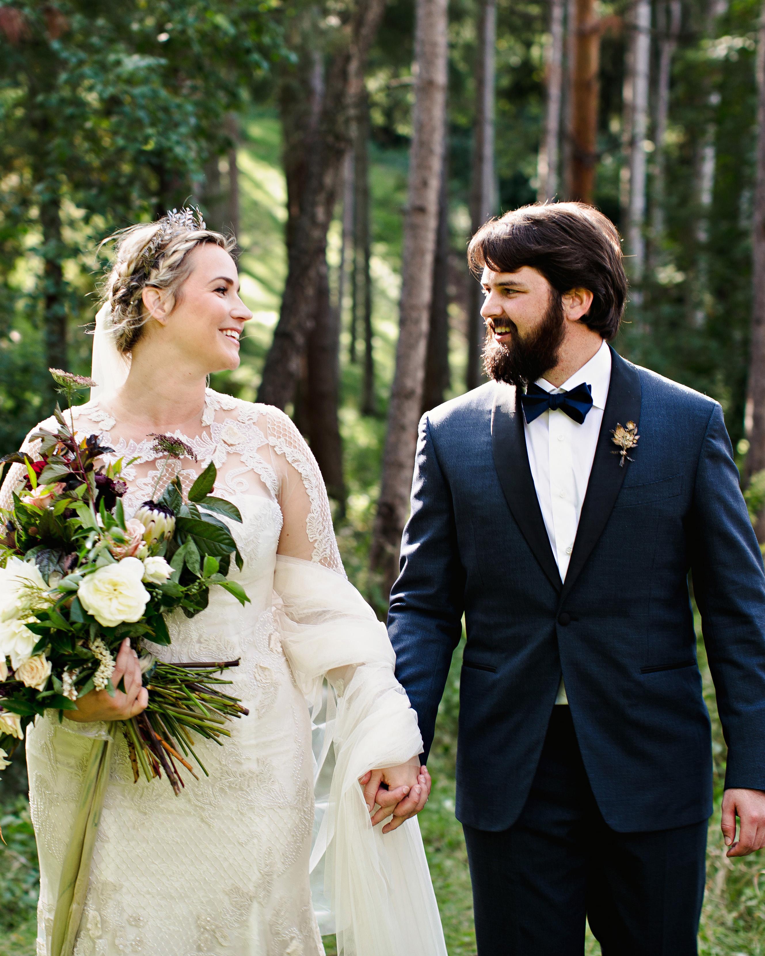 britt courtney wedding couple